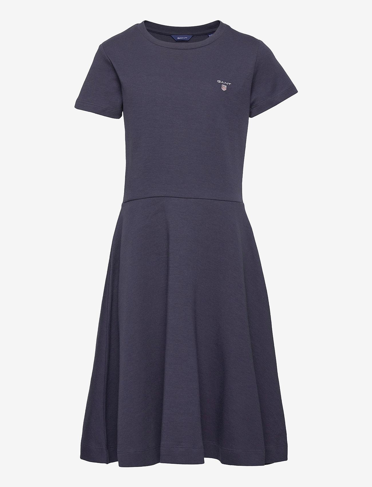 GANT - D1. ORIGINAL JERSEY DRESS - jurken - evening blue - 0