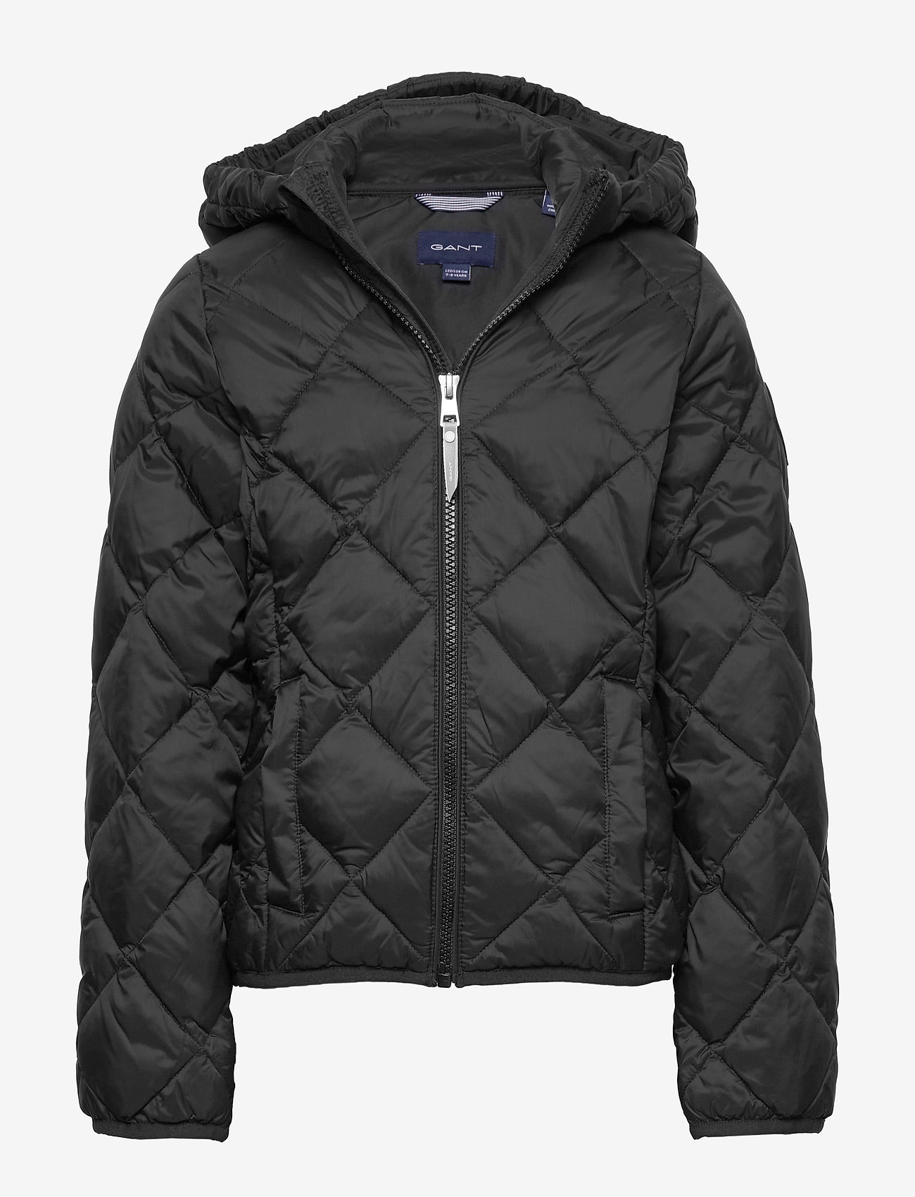 GANT - D1. THE LT WEIGHT DIAMOND PUFFER - puffer & padded - black - 0