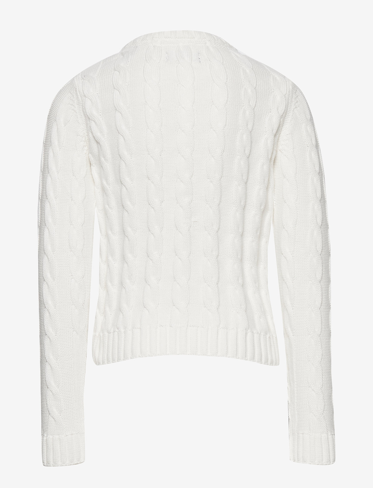 GANT - COTTON CABLE CARDIGAN - cardigans - eggshell - 1