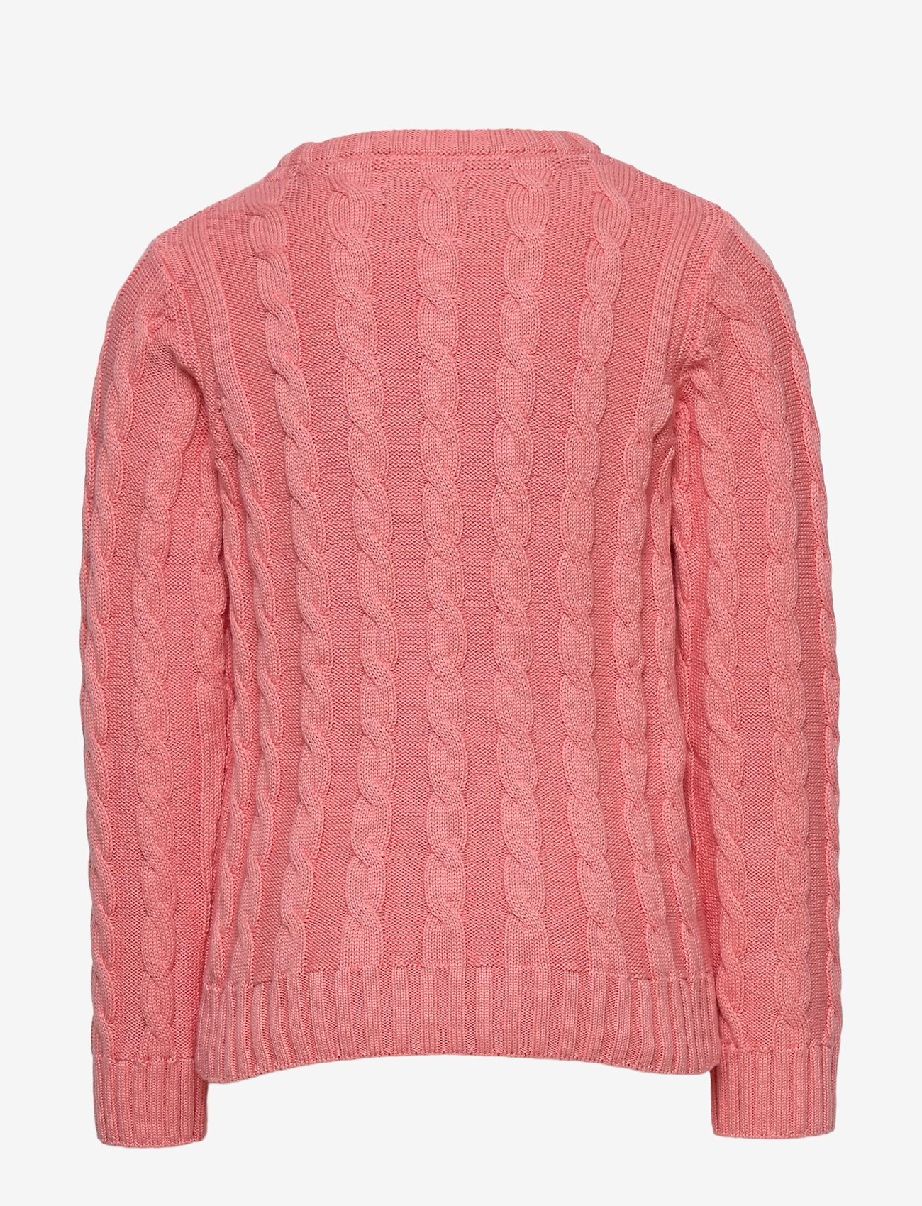 GANT - COTTON CABLE CREW - strickmode - strawberry pink - 1