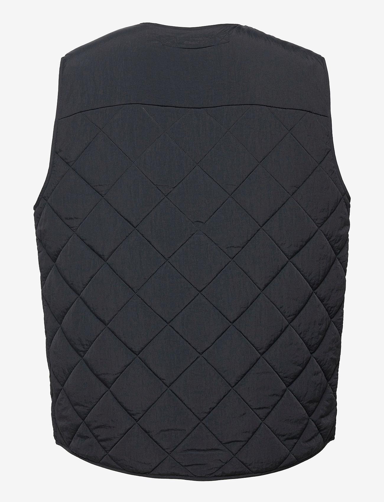 GANT - D1. QUILTED VEST - vests - black - 1