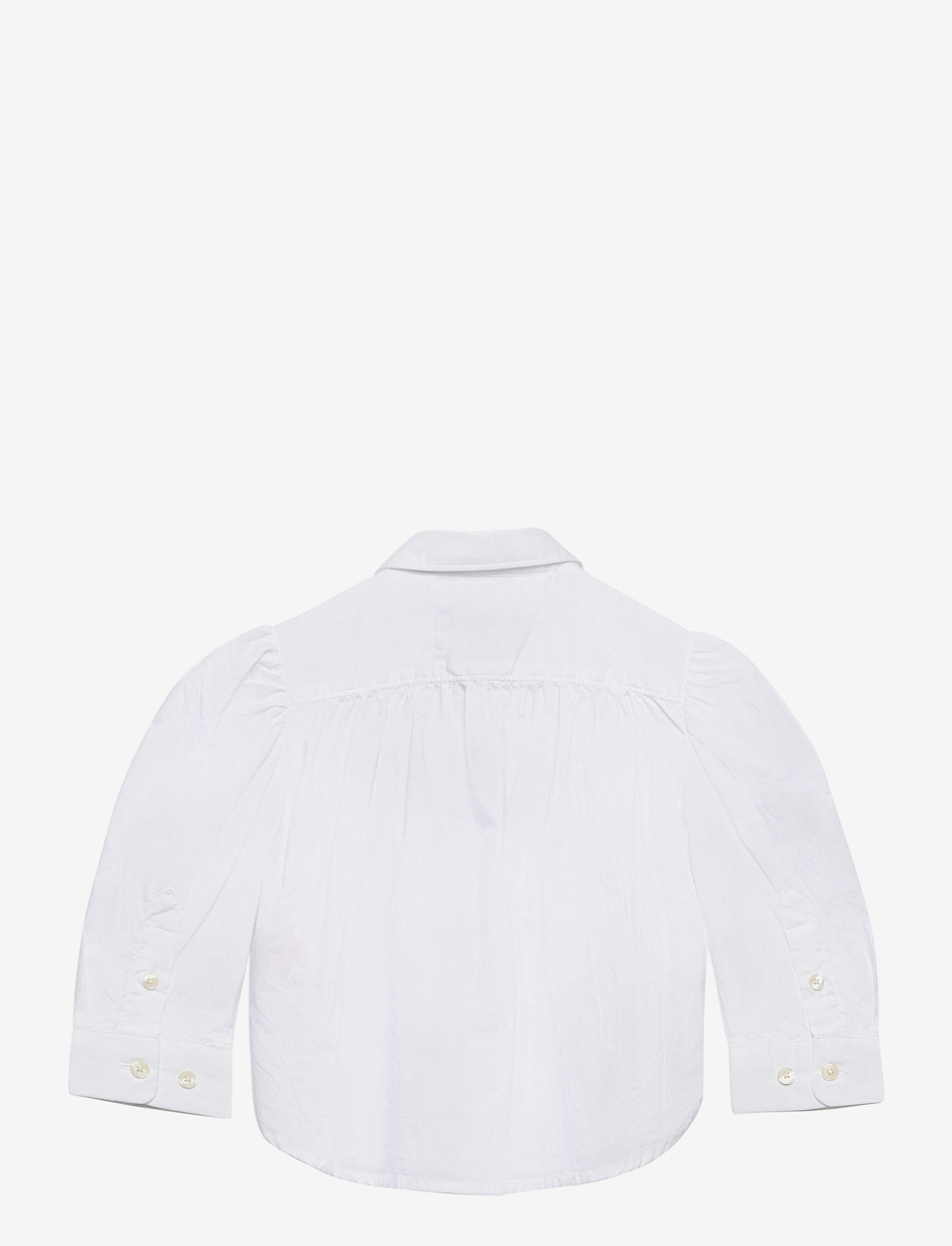 GANT - D1. GANT SCRIPT SHIRT - shirts - white - 1