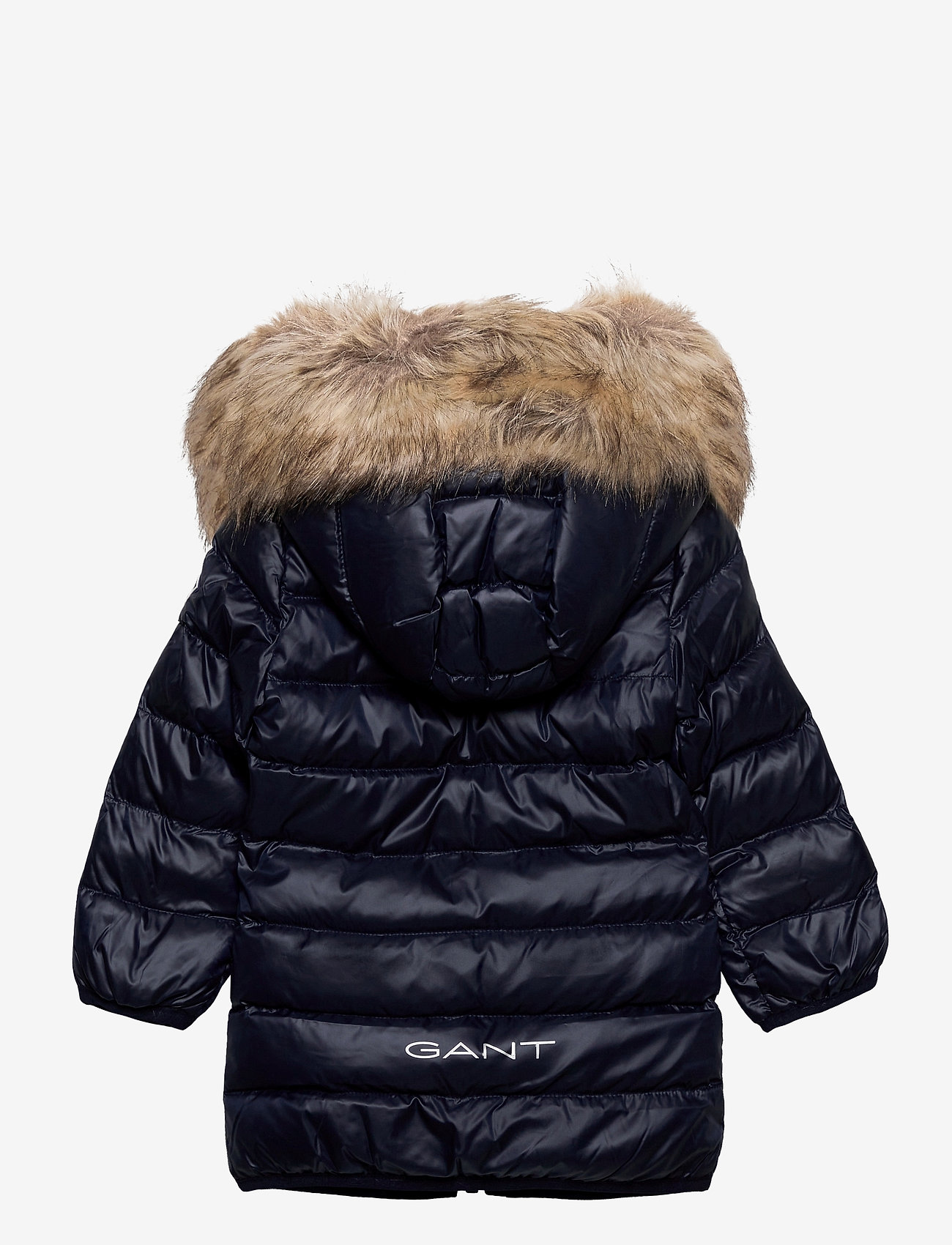 GANT - D1. GANT FAUX FUR PUFFER JACKET - puffer & padded - evening blue - 1