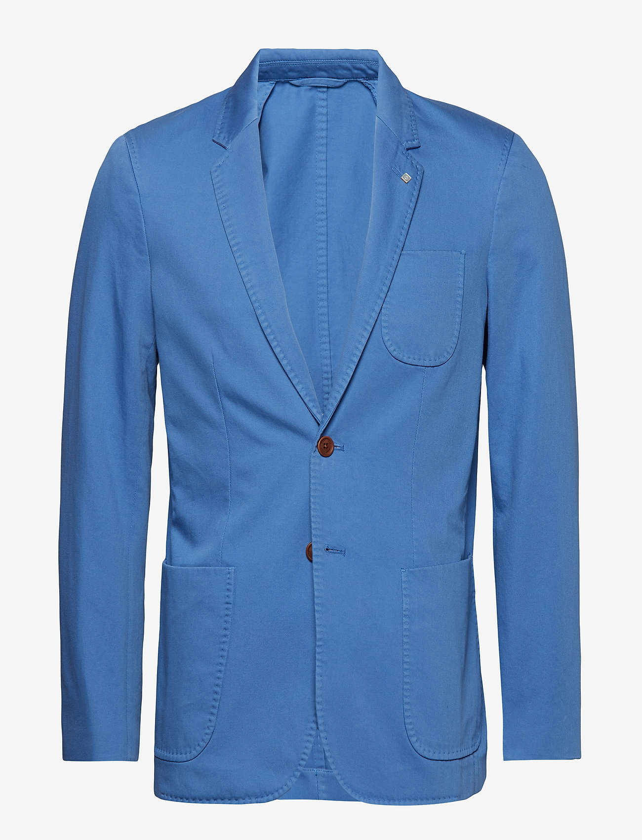 Gant O2. The Sunbleached Sports Coat - Kostymer & Kavajer Mid Blue