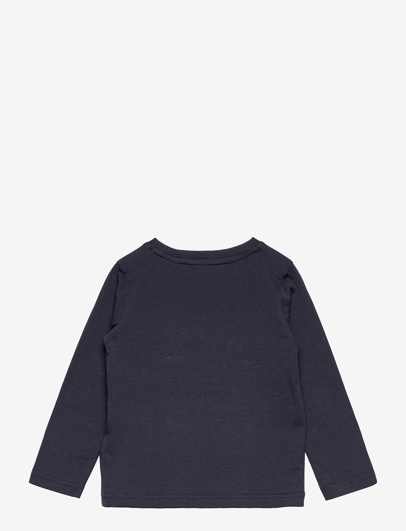 GANT - ARCHIVE SHIELD LS T-SHIRT - long-sleeved - evening blue - 1