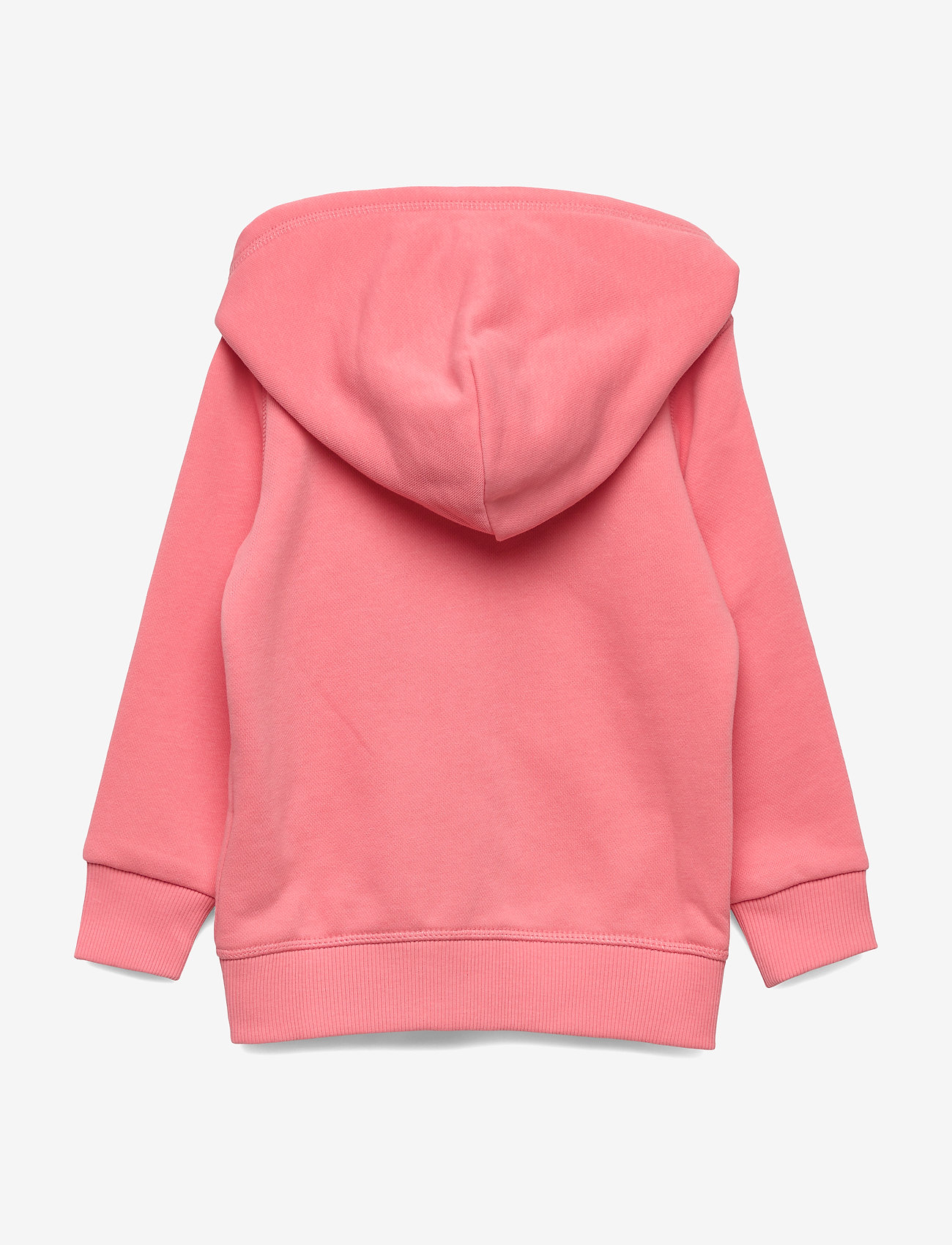 Gant - D1. GANT LOGO FULL ZIP HOODIE - hoodies - strawberry pink