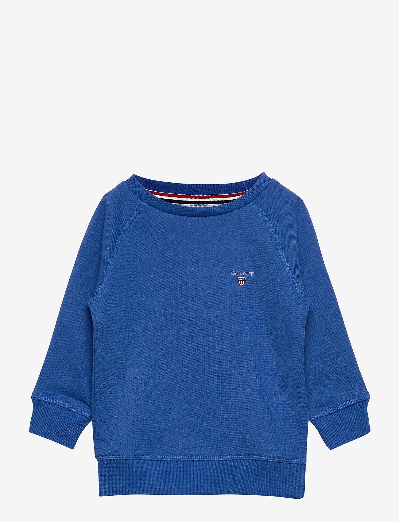 GANT - THE ORIGINAL SWEAT C-NECK - sweatshirts - strong blue - 0