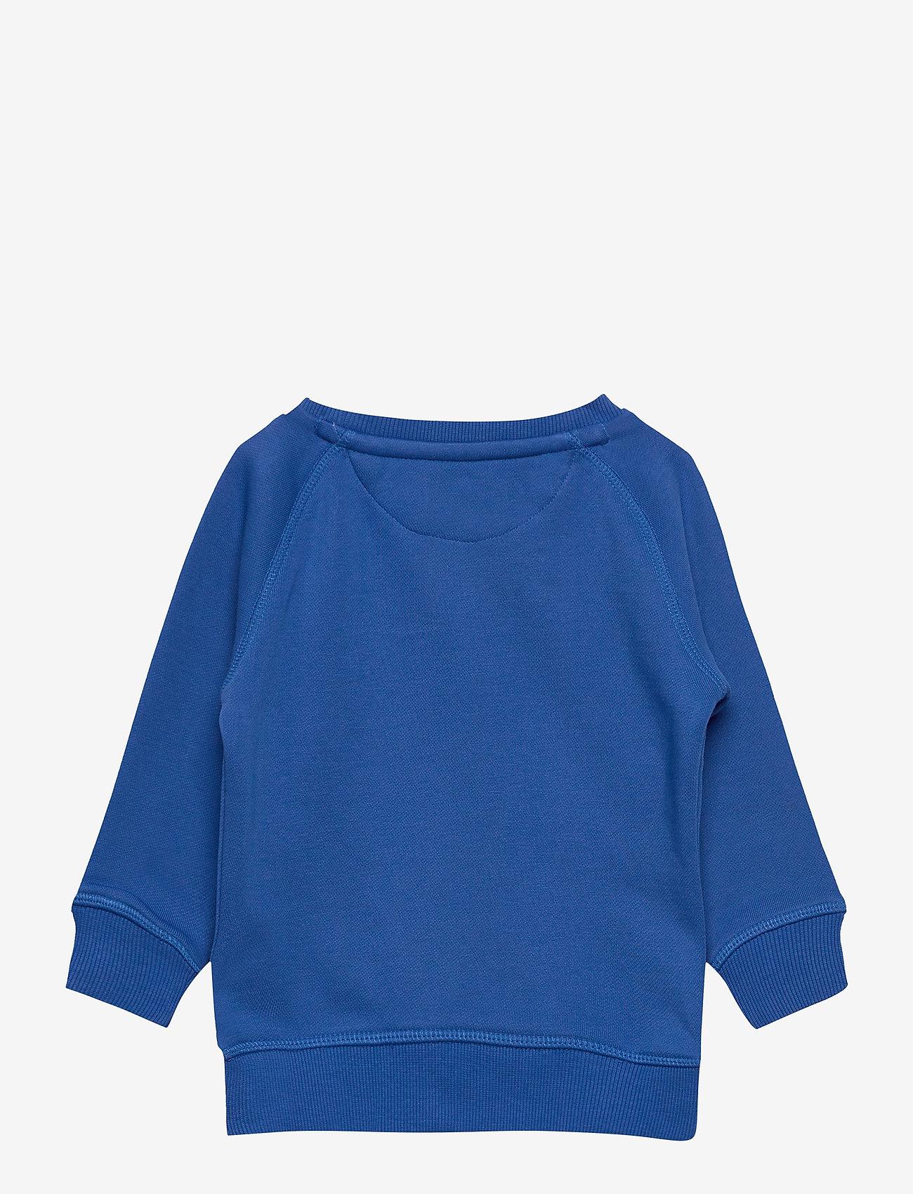 GANT - THE ORIGINAL SWEAT C-NECK - sweatshirts - strong blue - 1