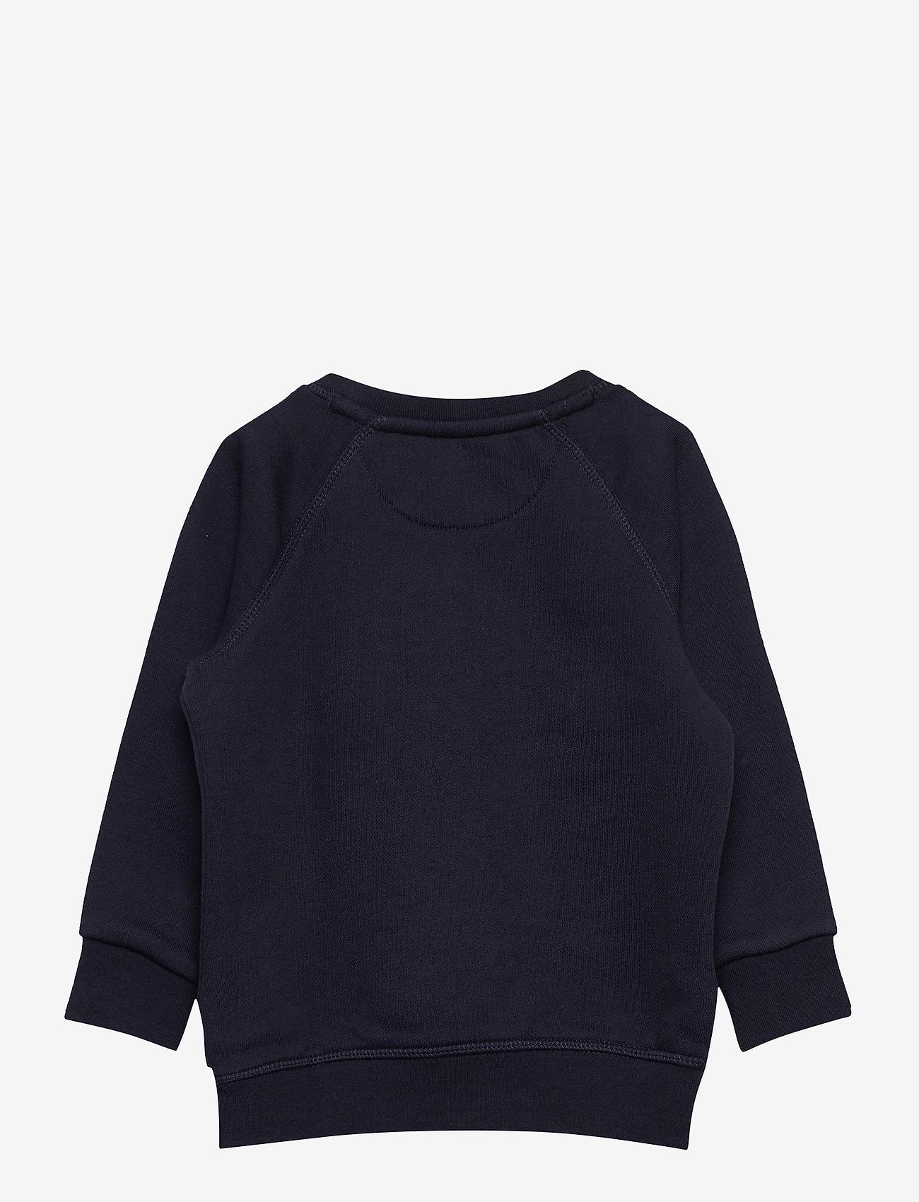 GANT - GANT LOCK-UP SWEAT C-NECK - sweatshirts - evening blue - 1