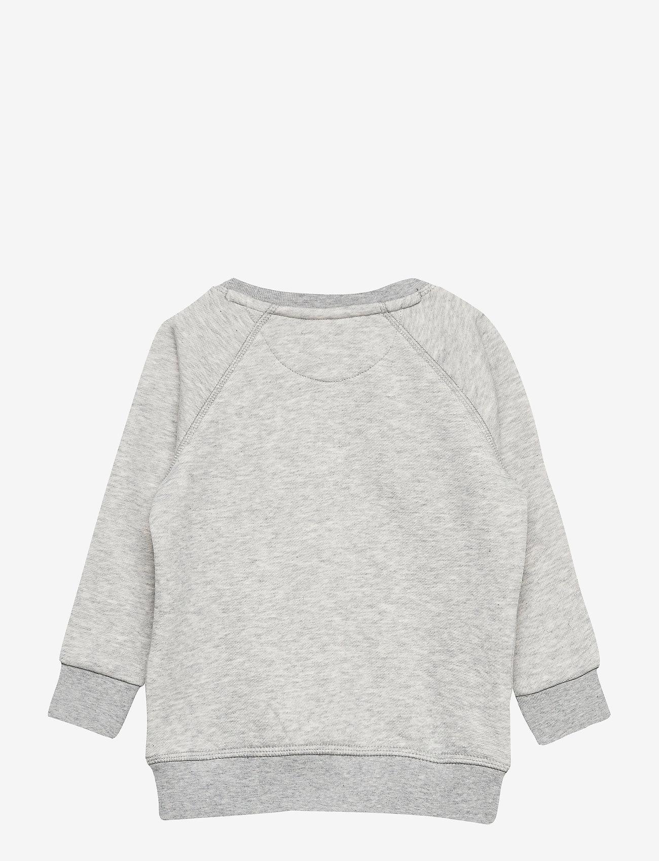 GANT - GANT LOCK-UP SWEAT C-NECK - sweatshirts - light grey melange - 1