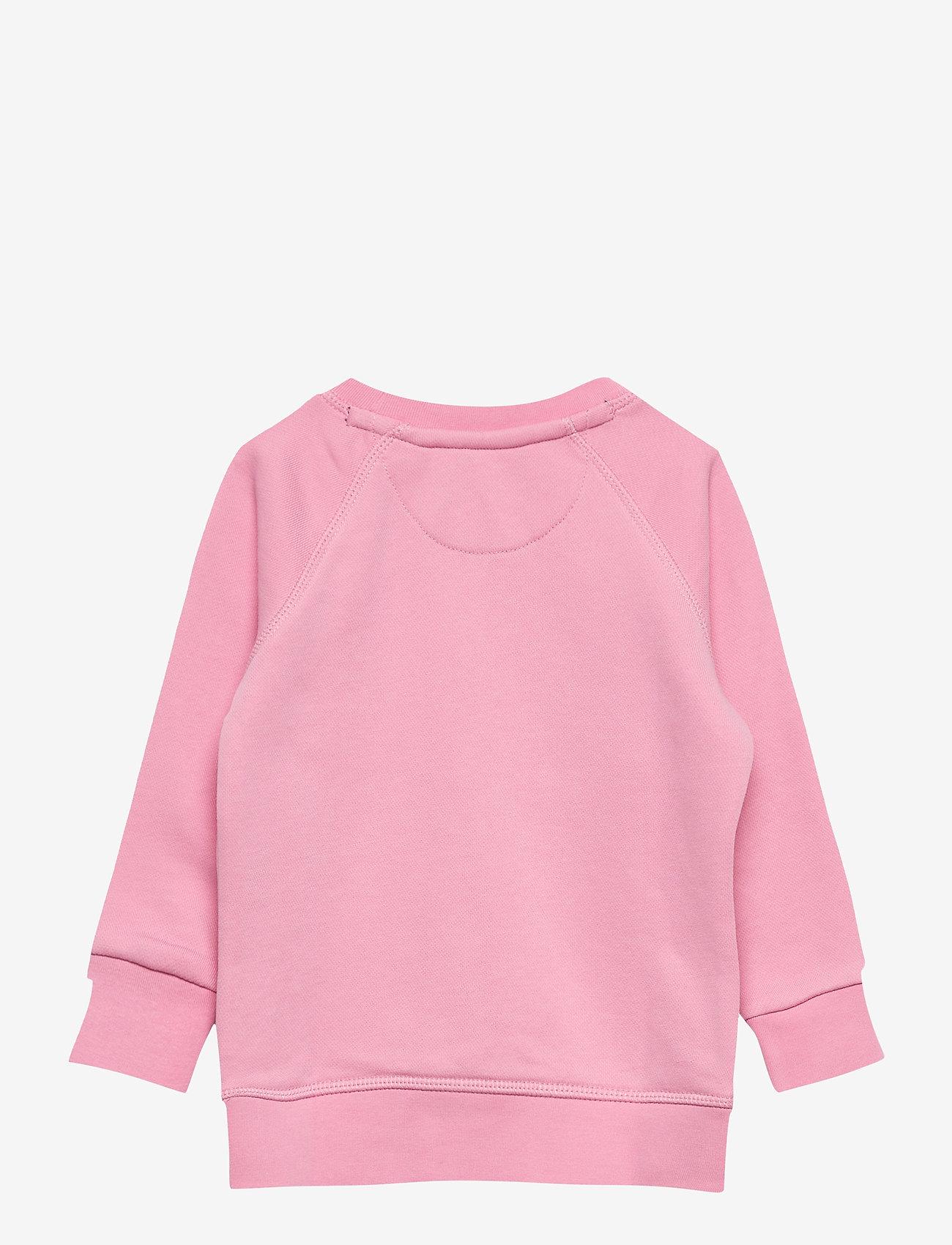 GANT - GANT LOCK-UP SWEAT C-NECK - sweatshirts - sea pink - 1