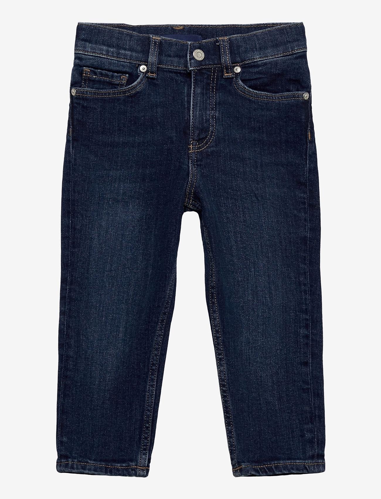 GANT - D1. DENIM JEANS - jeans - dark blue worn in - 0