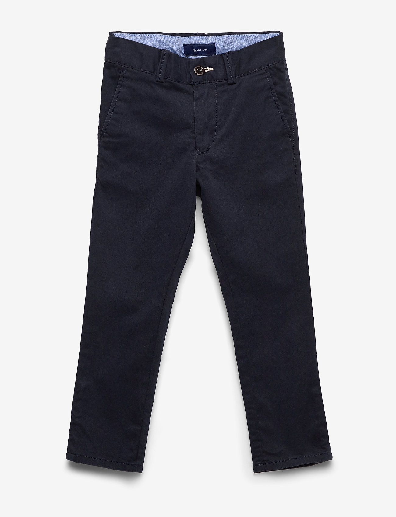 Gant - CHINO PANTS - trousers - evening blue