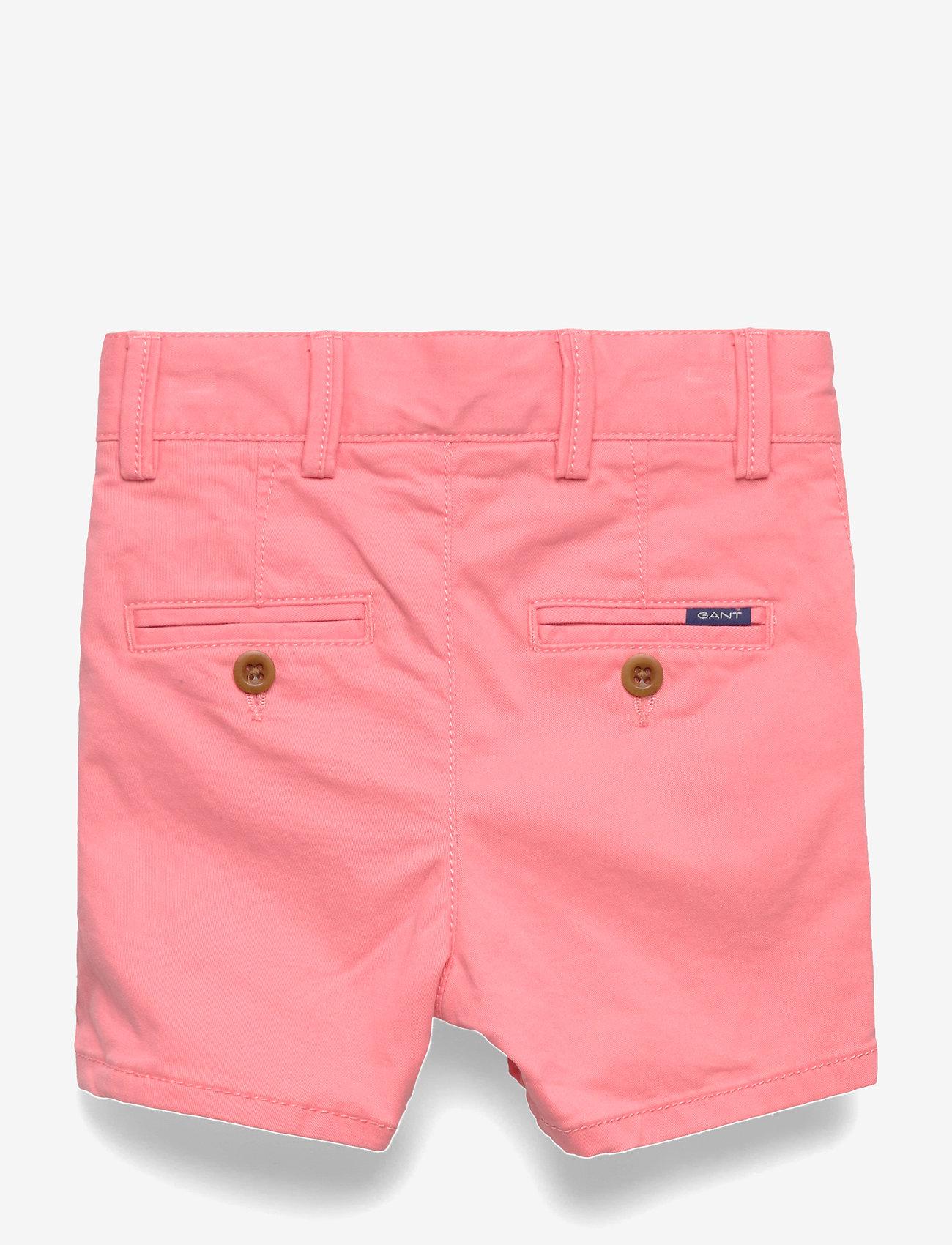 GANT - D2. CHINO SHORTS - shorts - strawberry pink - 1