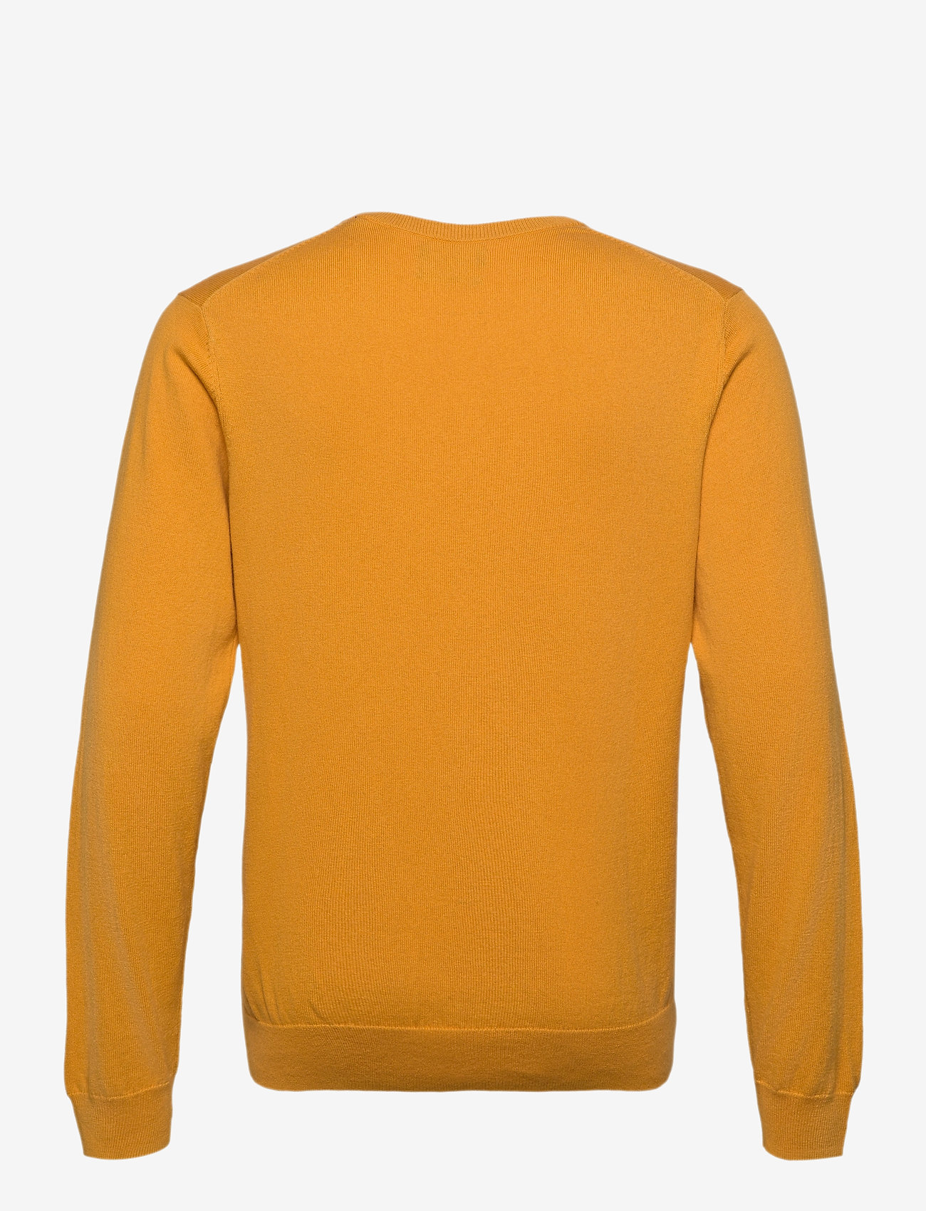 GANT - COTTON WOOL V-NECK - knitted v-necks - ivy gold - 1