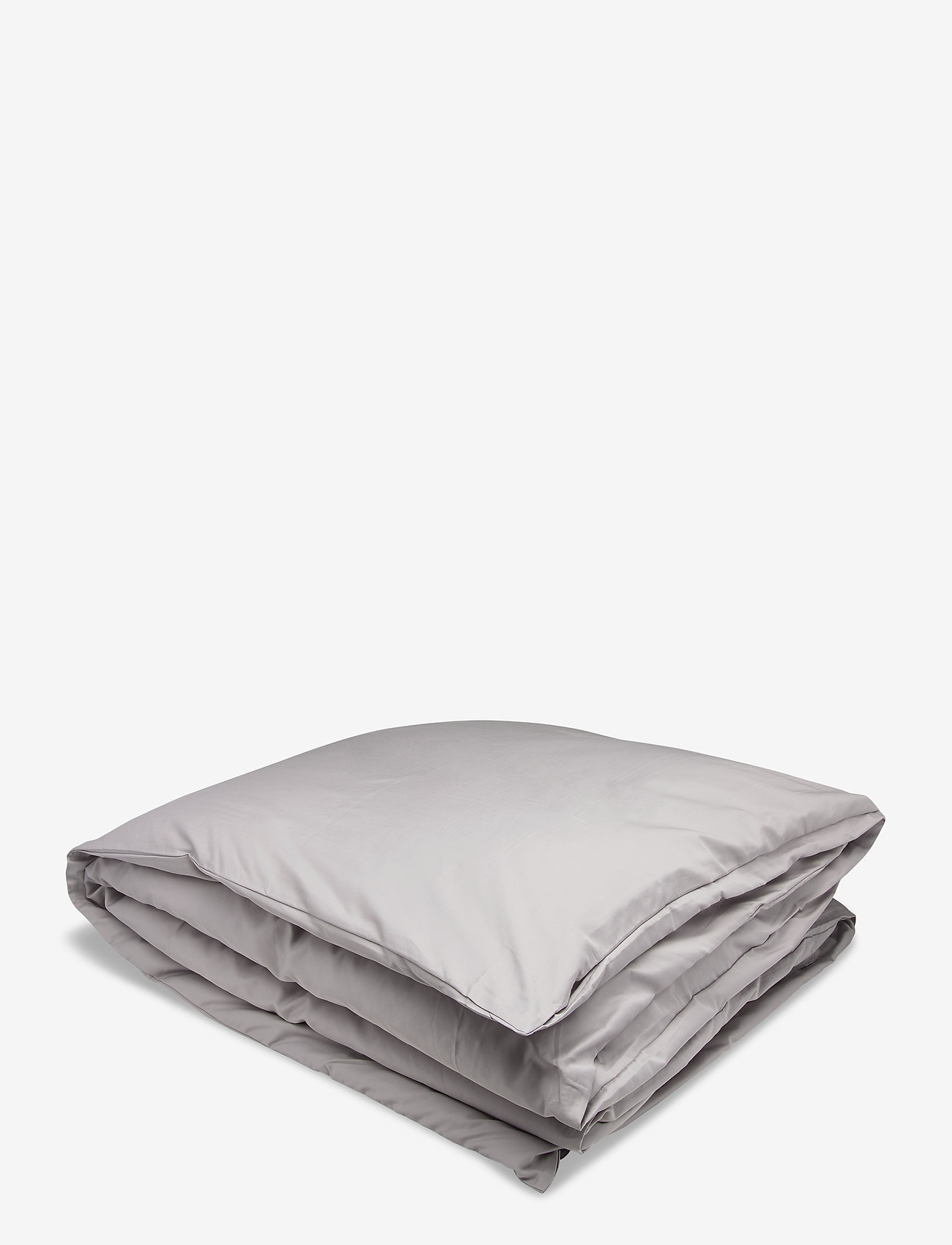 GANT - SATEEN SINGLE DUVET - pillows & duvets - moon grey - 0