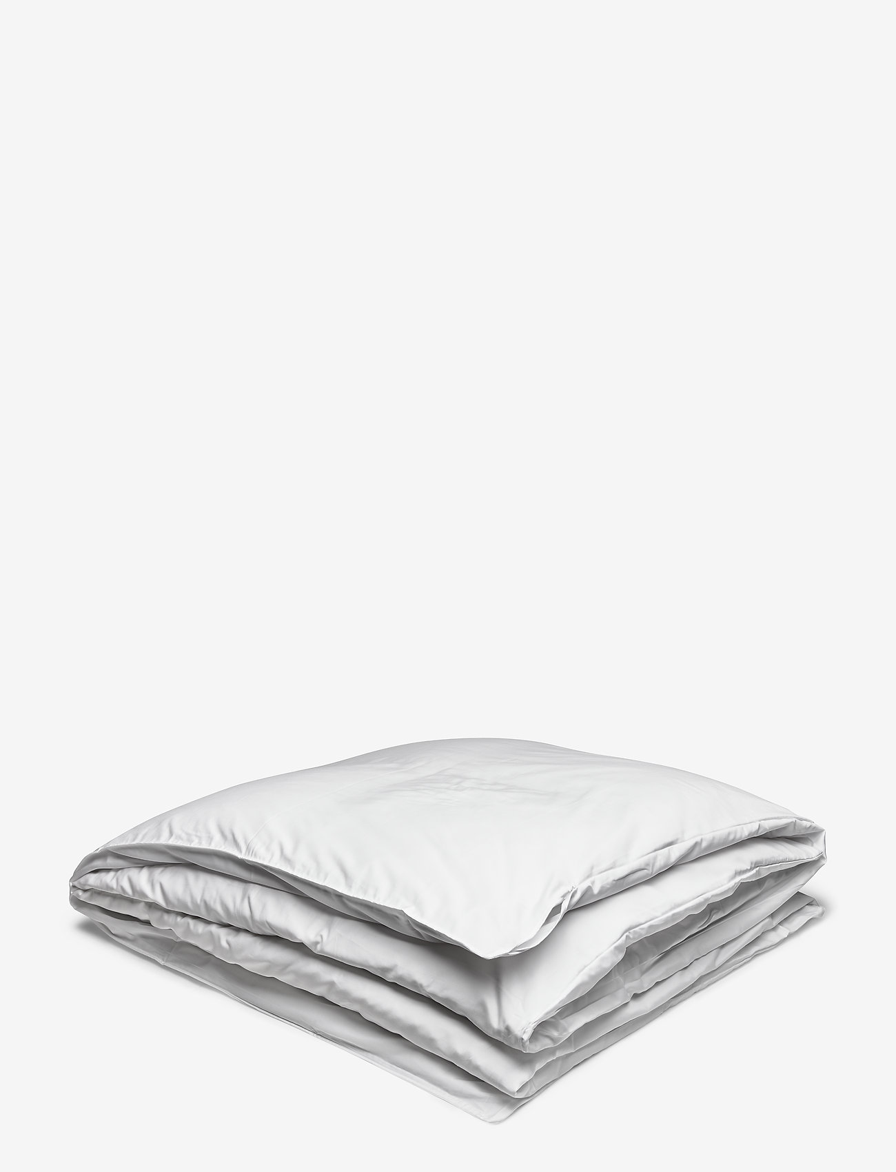 GANT - SATEEN SINGLE DUVET - pillows & duvets - white - 0