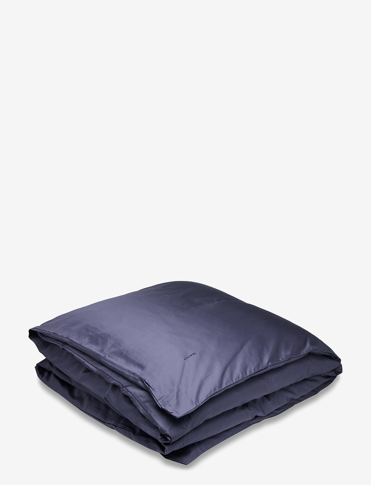 GANT - SATEEN DOUBLE DUVET - duvet covers - sateen blue - 0