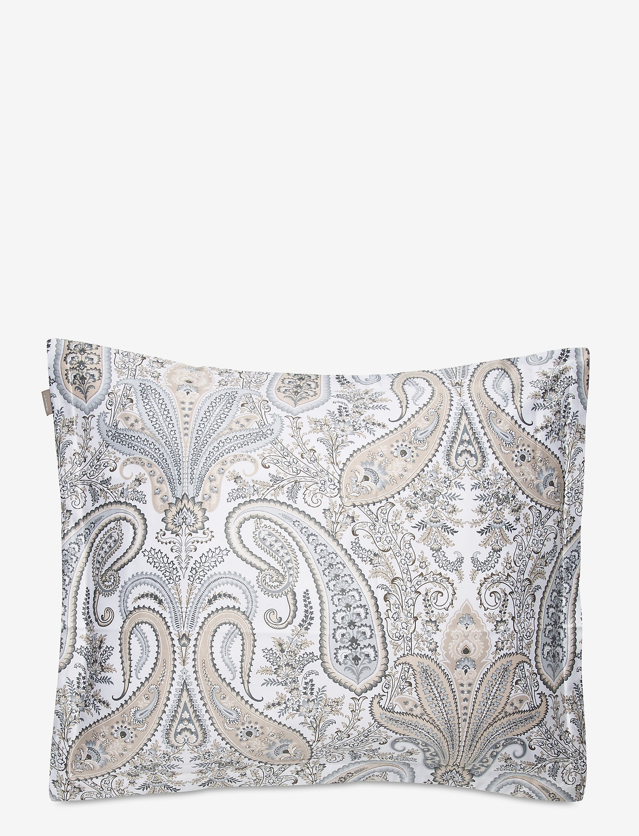 GANT - KEY WEST PAISLEY PILLOWCASE - tyynyliinat - grey - 0