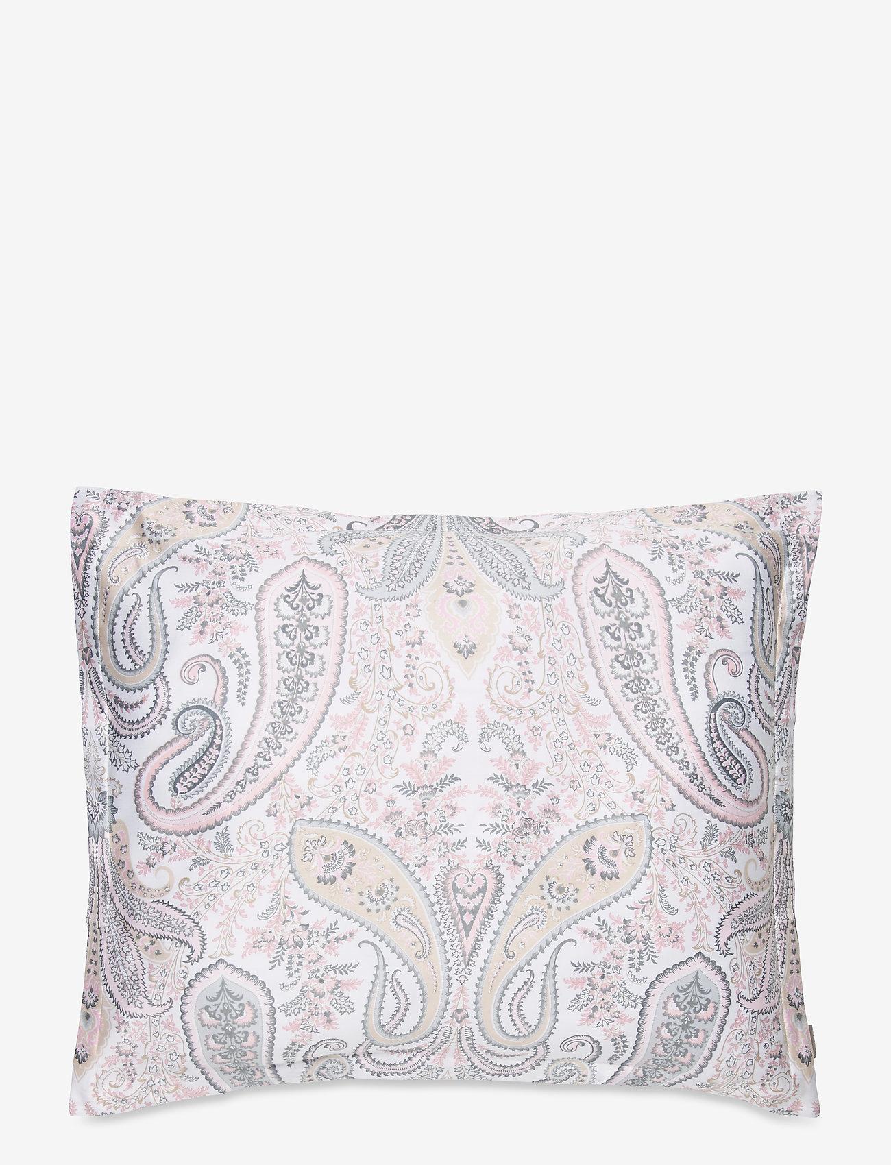 GANT - KEY WEST PAISLEY PILLOWCASE - pillowcases - light pink - 0