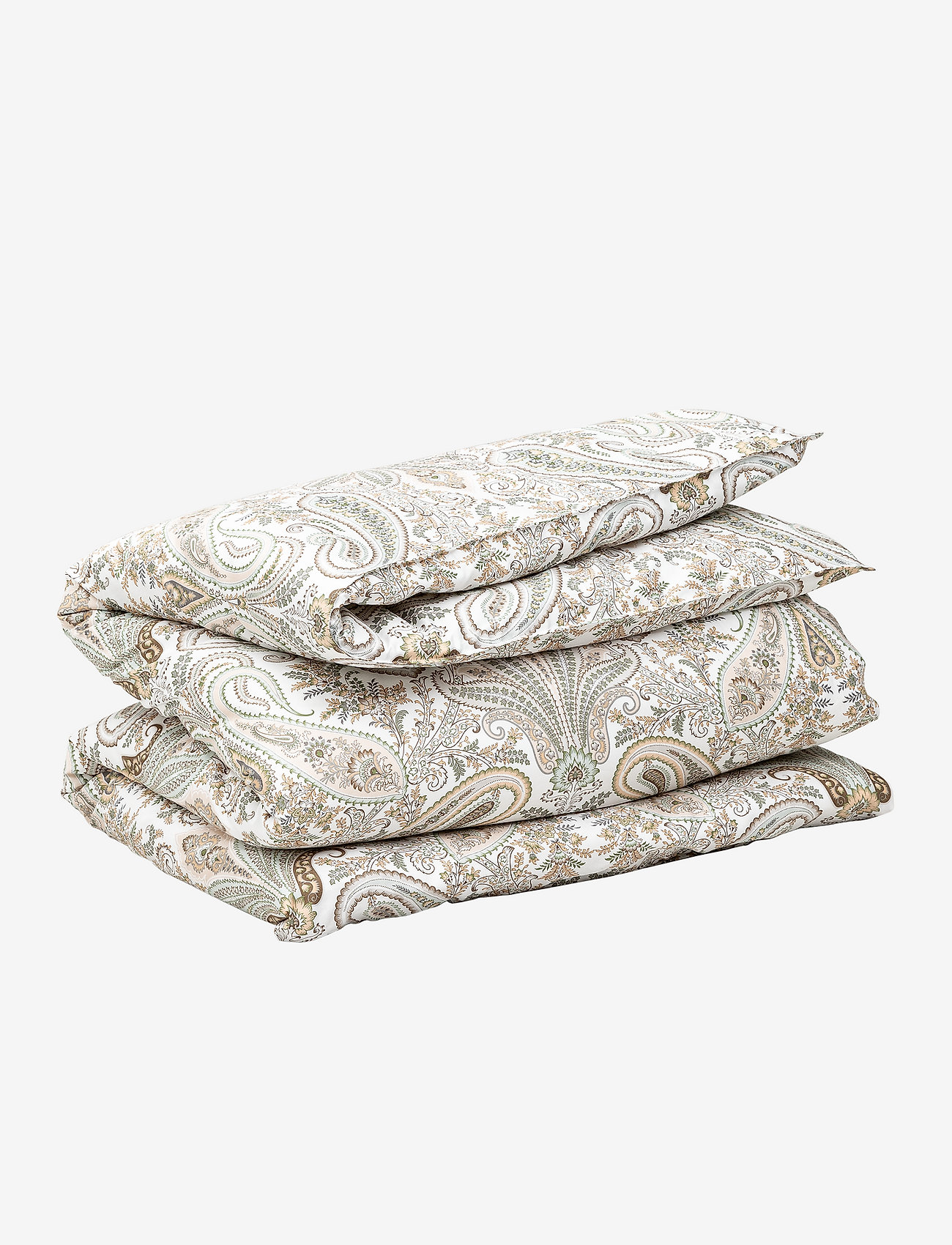GANT - KEY WEST PAISLEY DOUBLE DUVET - peitot - putty - 0