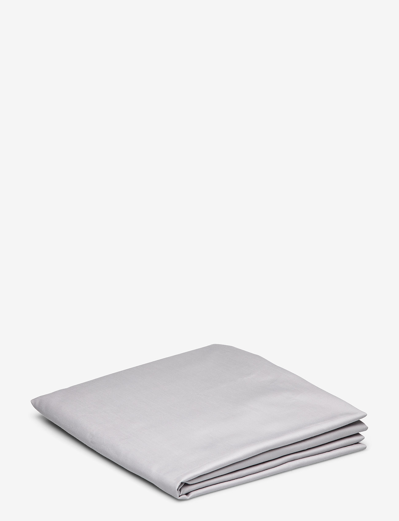 GANT - SATEEN SINGLE BOTTOM SHEET - bedsheets - moon grey - 0