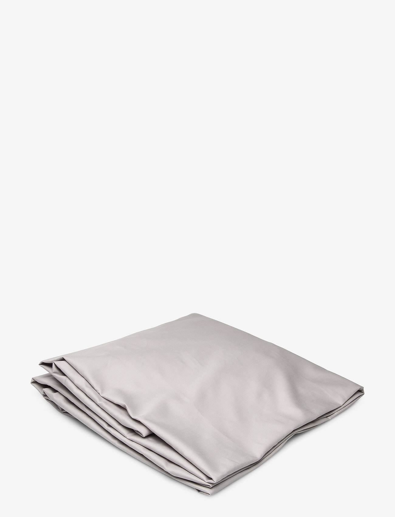 GANT - SATEEN SINGLE FITTED SHEET - bed sheets - moon grey - 0