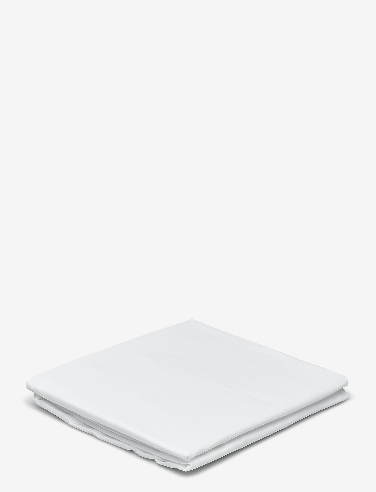 GANT - SATEEN DOUBLE FITTED SHEET - sänglakan - white - 0