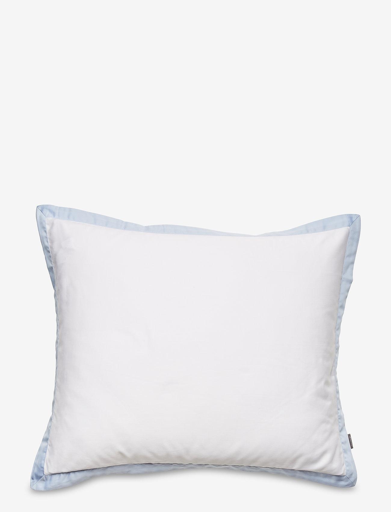 GANT - SATEEN BORDER PILLOWCASE - pillowcases - hamptons blue - 0