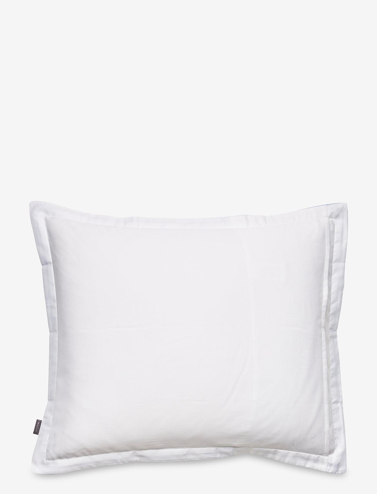 GANT - SATEEN BORDER PILLOWCASE - pillowcases - hamptons blue - 1