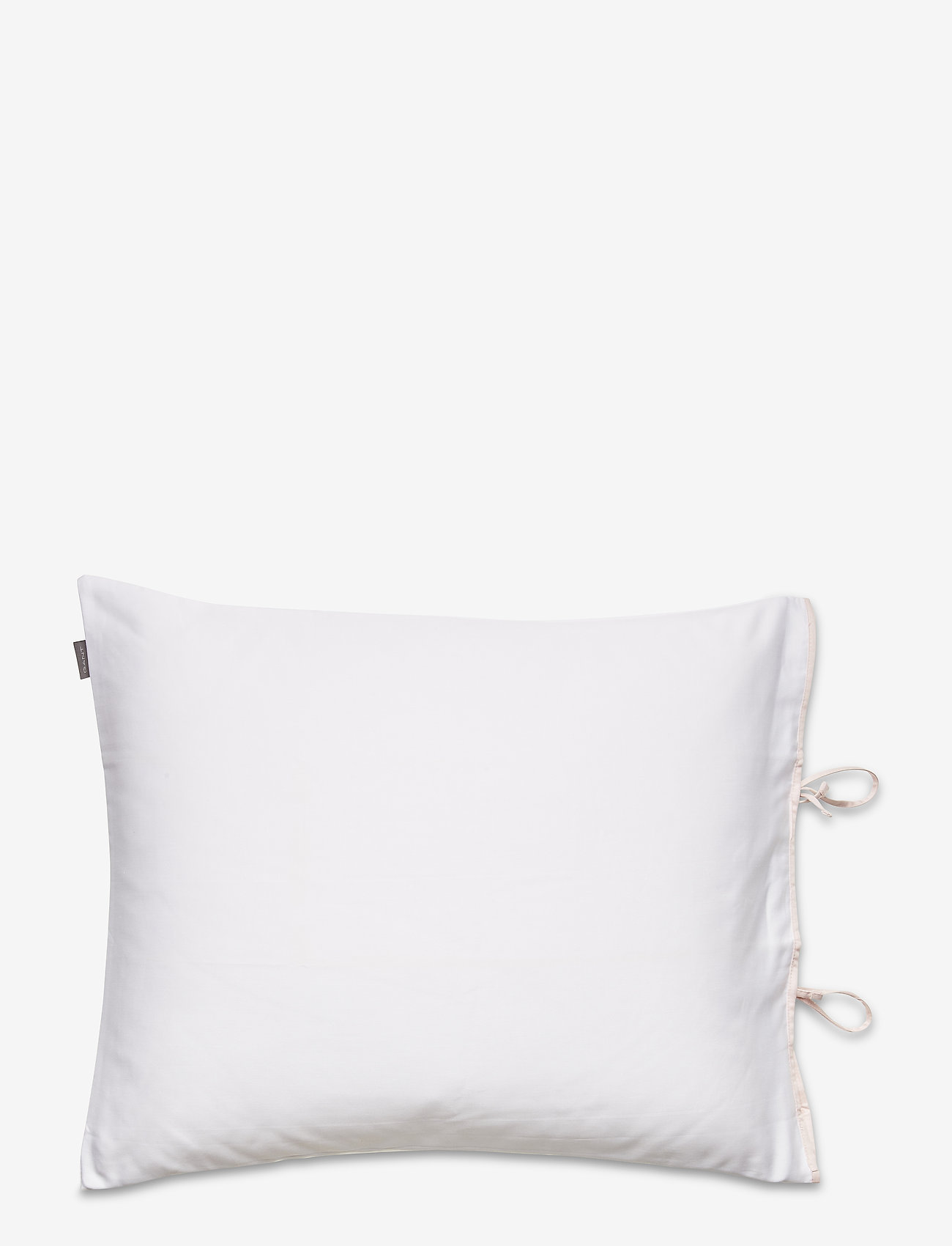 GANT - SATEEN RIBBON PILLOWCASE - pillowcases - pink - 1