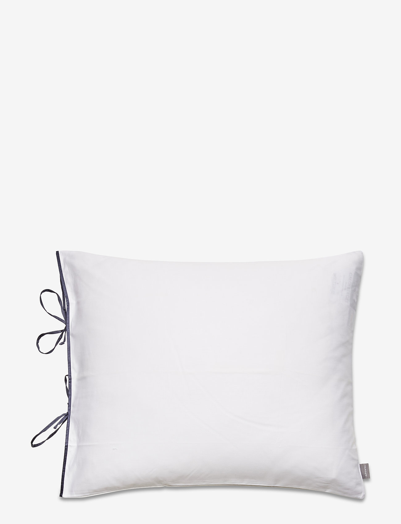 GANT - SATEEN RIBBON PILLOWCASE - pillowcases - sateen blue - 0