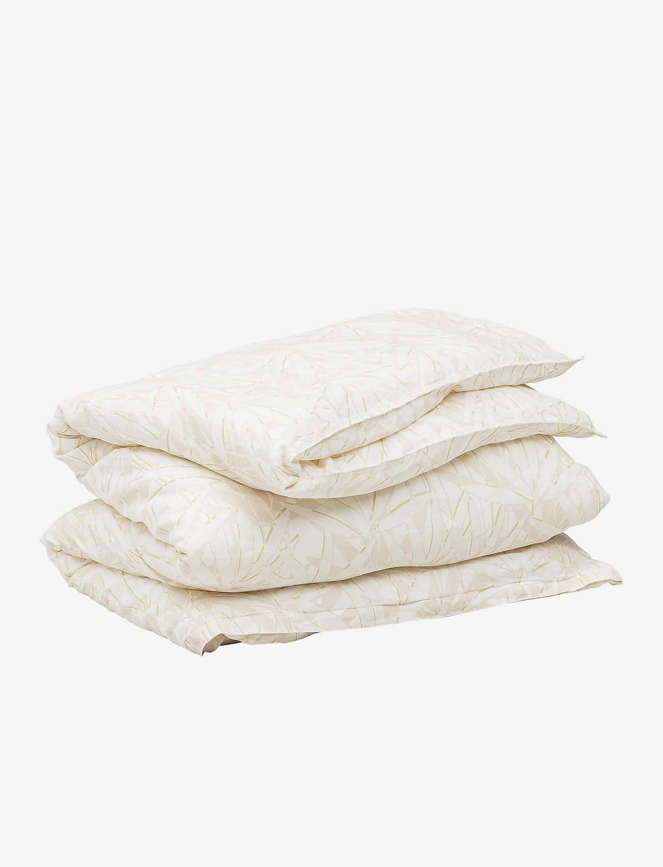 GANT - COTTON LINEN GROW DOUBLE DUVET - duvet covers - putty - 0