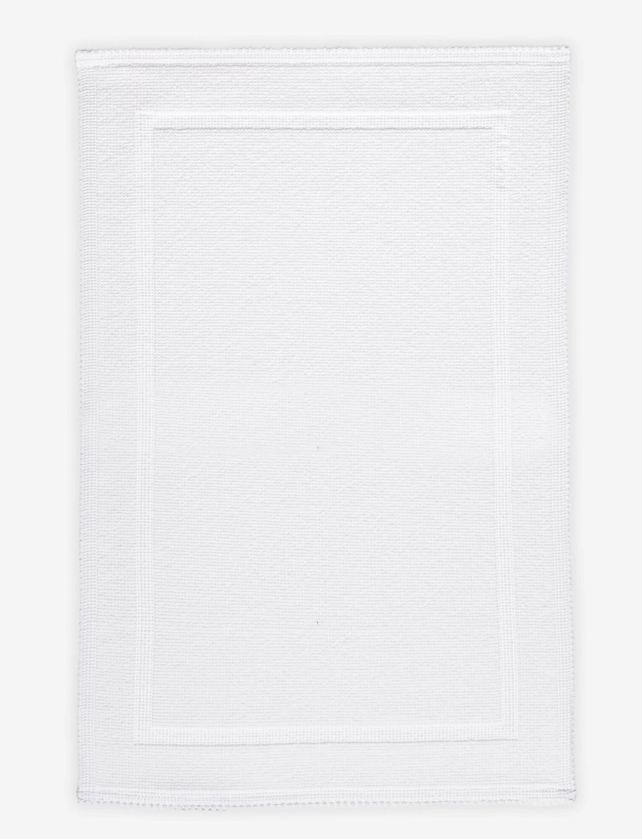 Gant - BATHRUG 60x90 - bath rugs - white