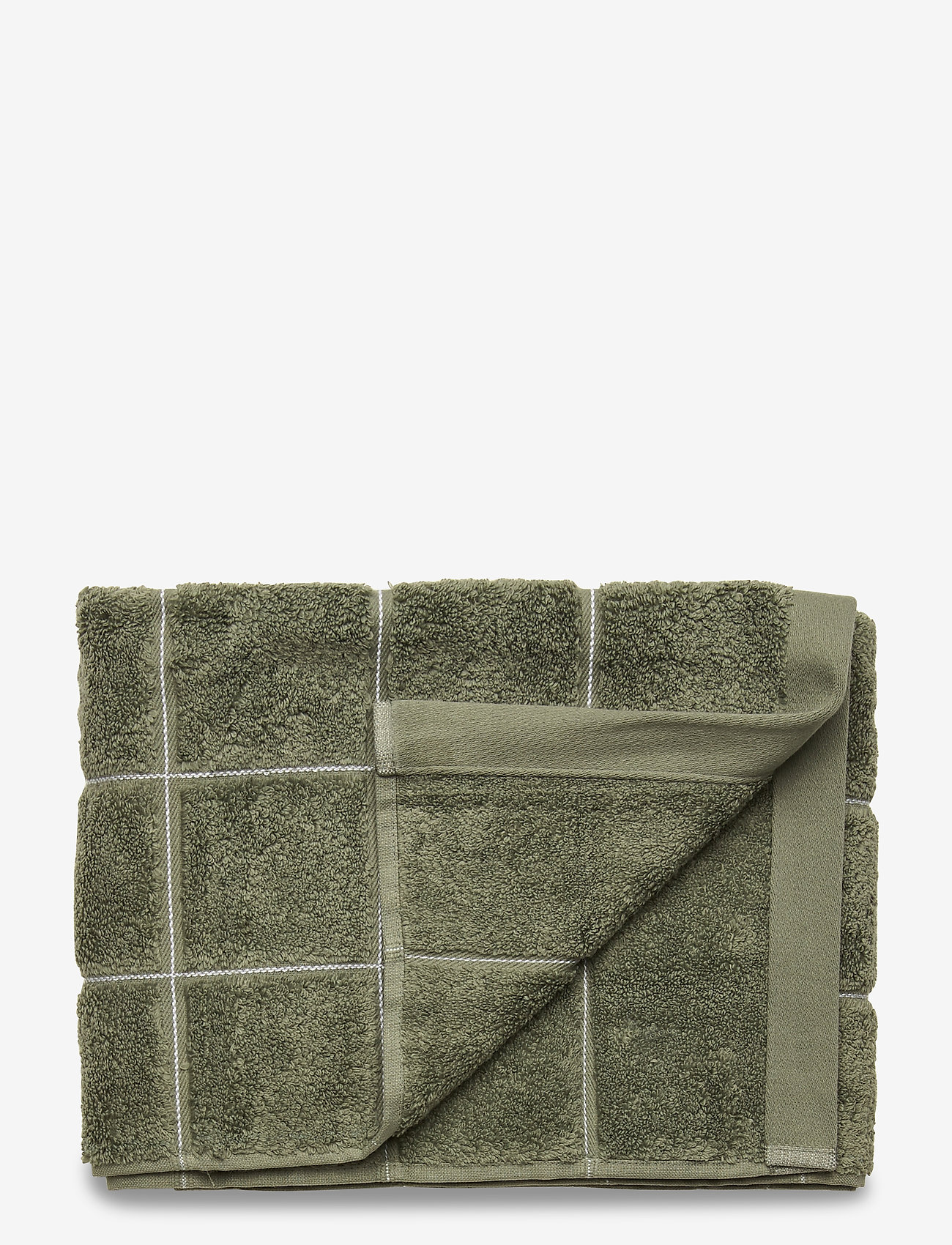 GANT - WINDOW CHECK TOWEL 50X100 - towels - agave green - 0