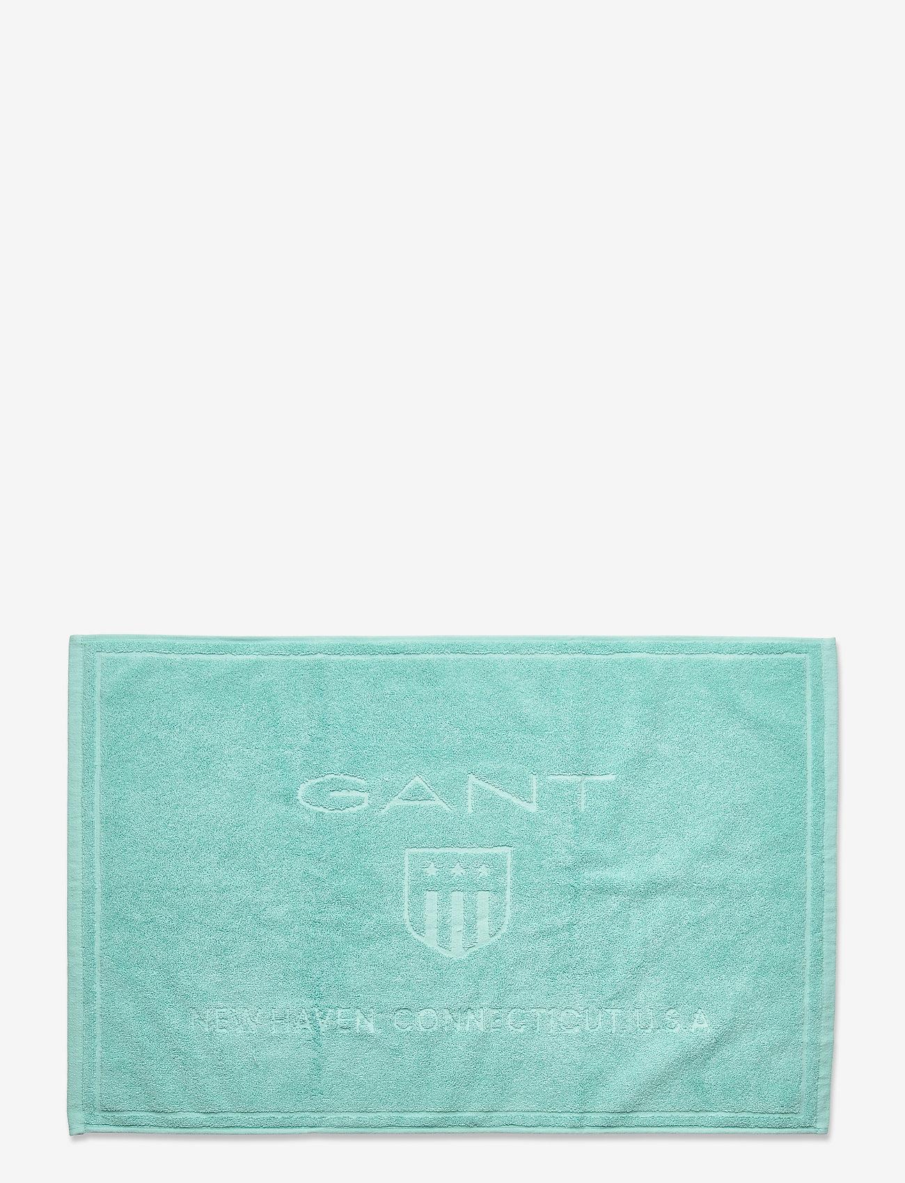 Gant - SHOWERMAT 50X80 - bath rugs - lagoon