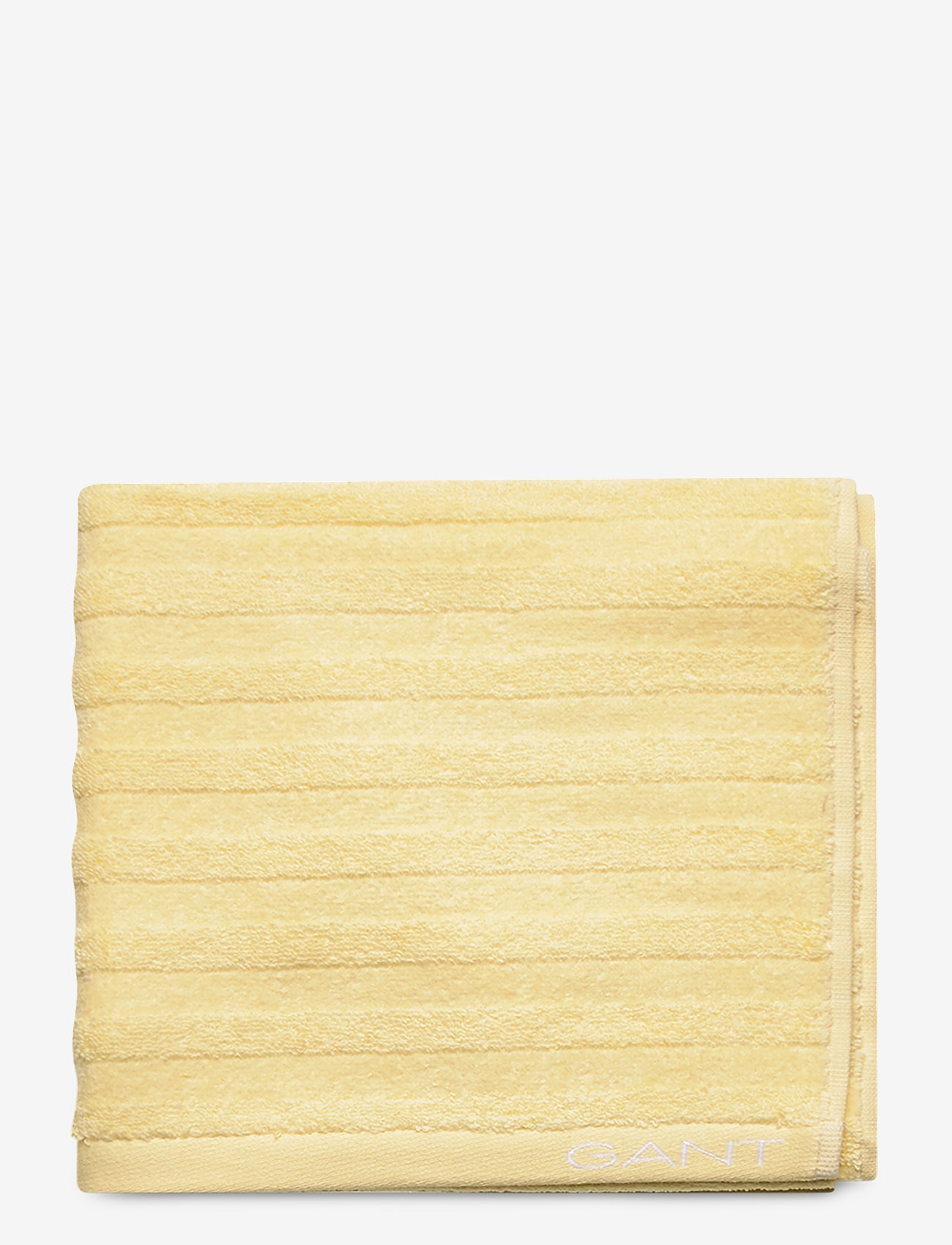 GANT - LINE TOWEL 50X70 - towels - lemon - 0