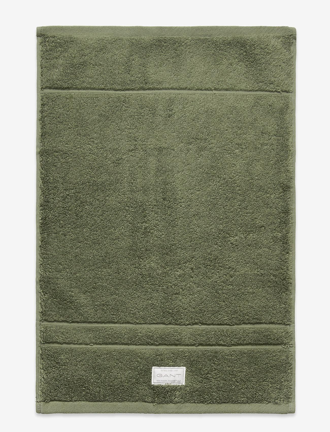 GANT - ORGANIC PREMIUM TOWEL 30X50 - ręczniki kąpielowe - agave green - 0
