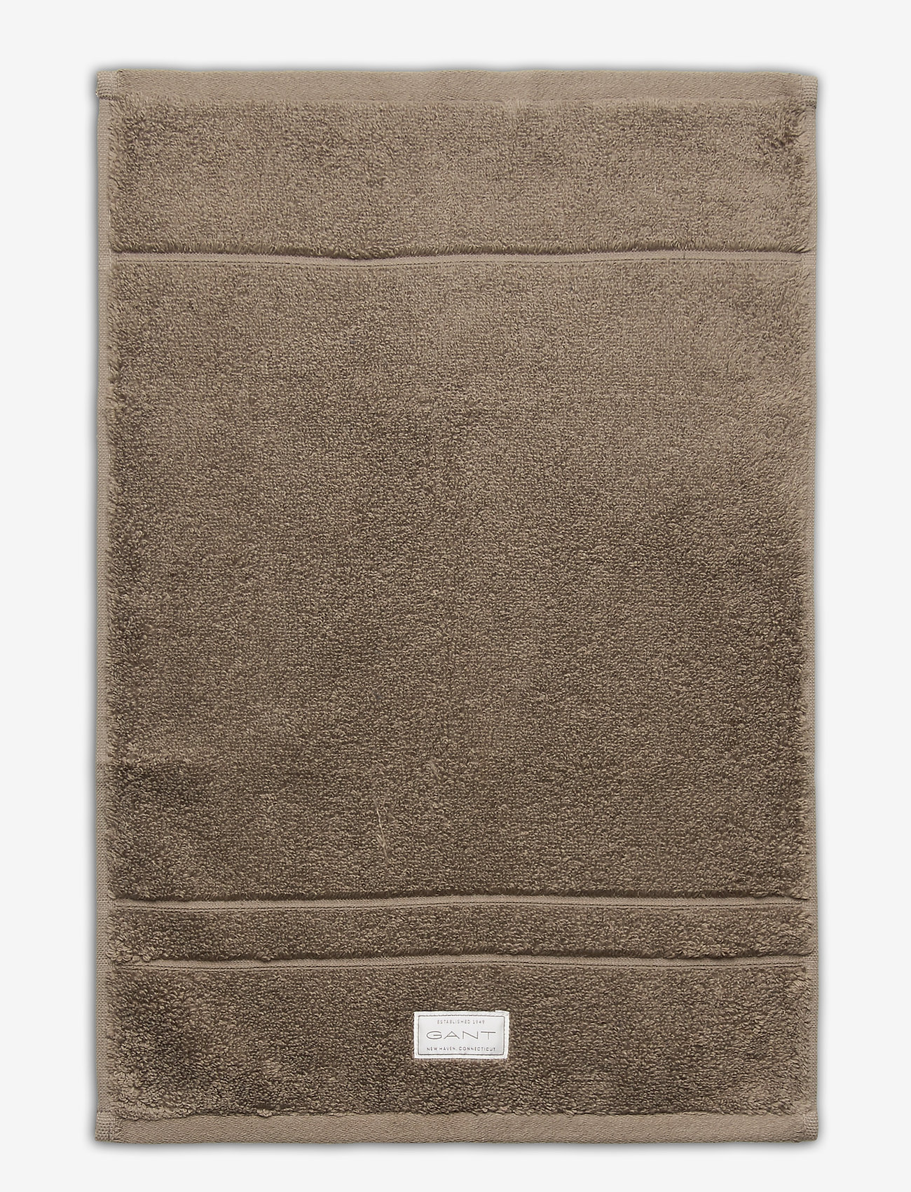 GANT - PREMIUM TOWEL 30X50 - hand towels & bath towels - desert brown - 0
