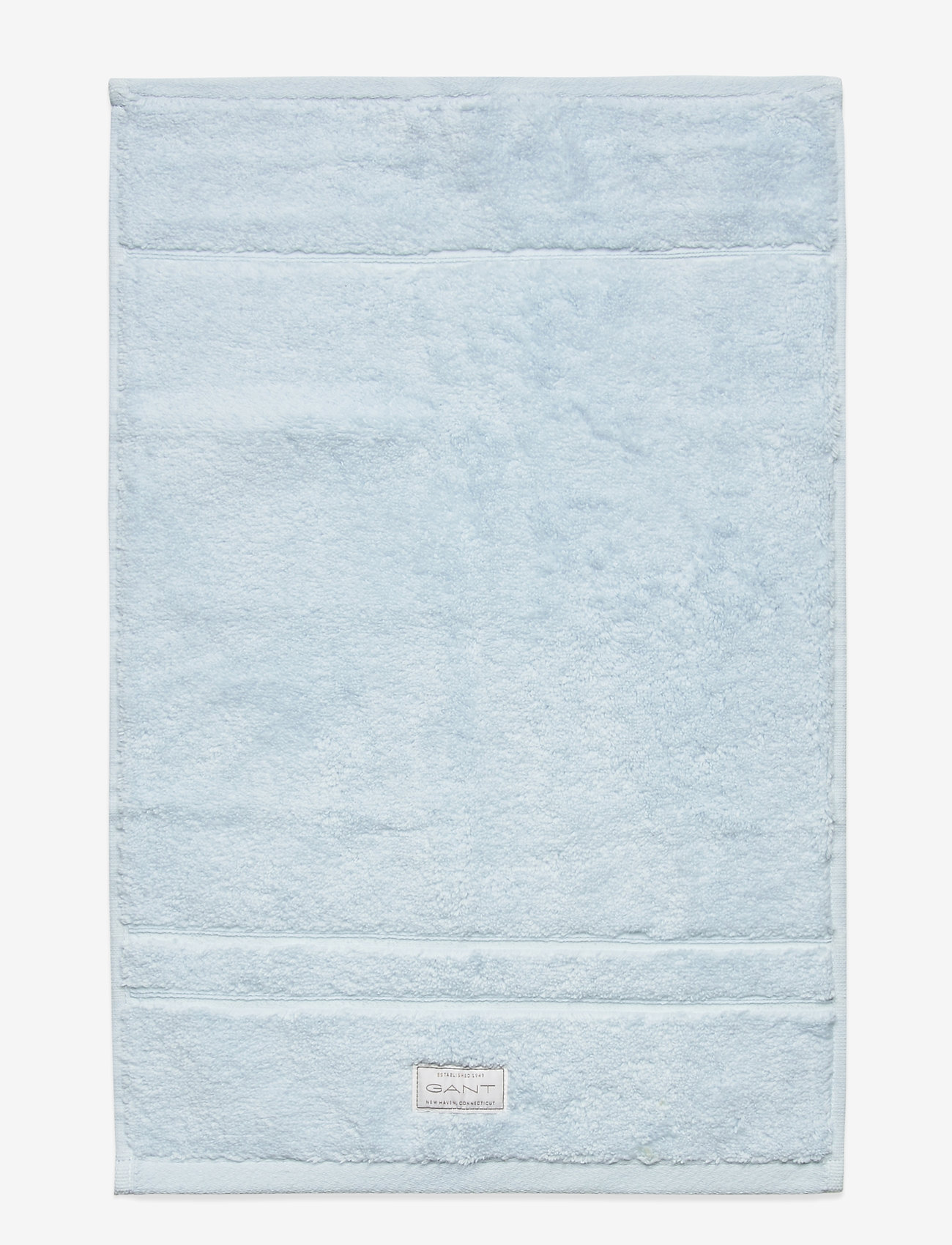 GANT - ORGANIC PREMIUM TOWEL 30X50 - hand towels & bath towels - light blue - 0