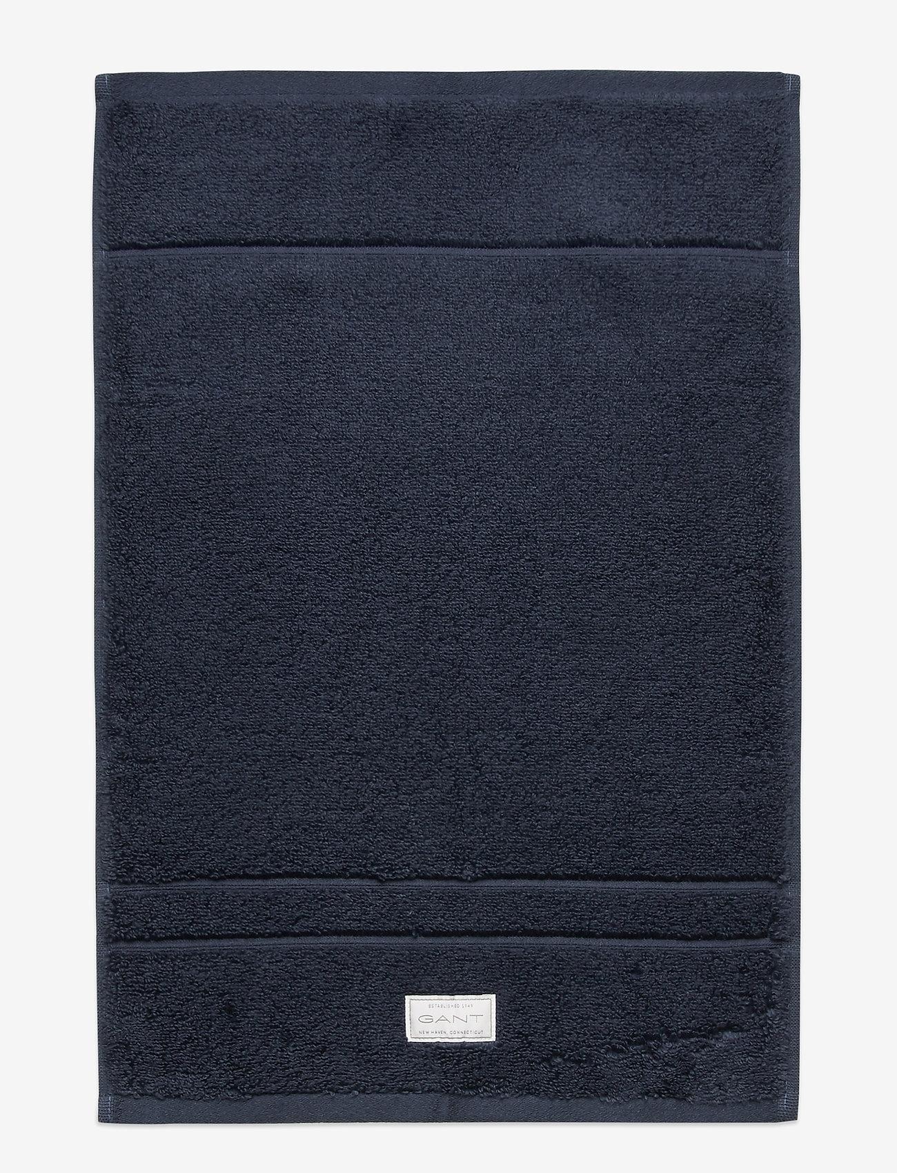 GANT - PREMIUM TOWEL 30X50 - hand towels & bath towels - sateen blue - 0