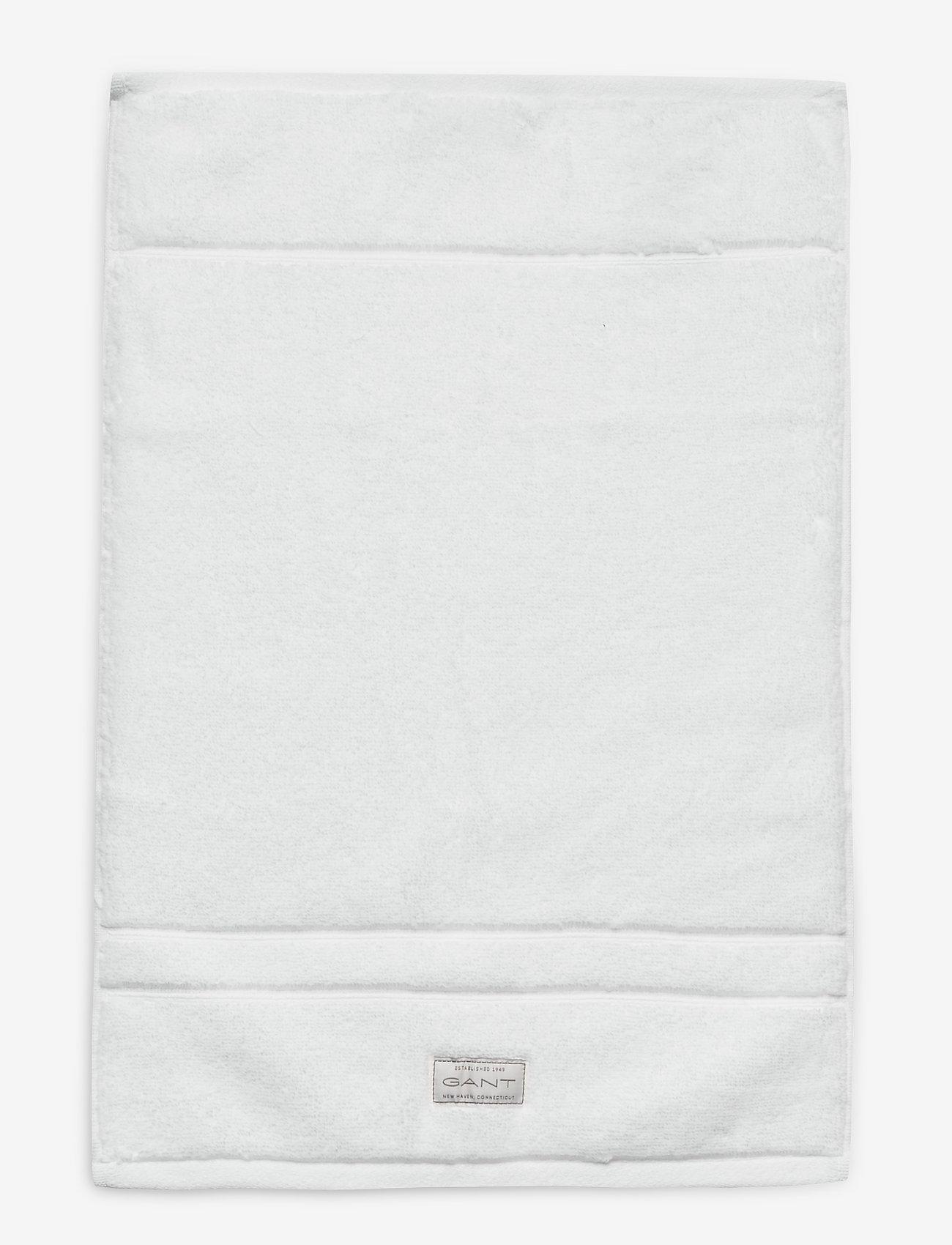 GANT - ORGANIC PREMIUM TOWEL 30X50 - ręczniki kąpielowe - white - 0