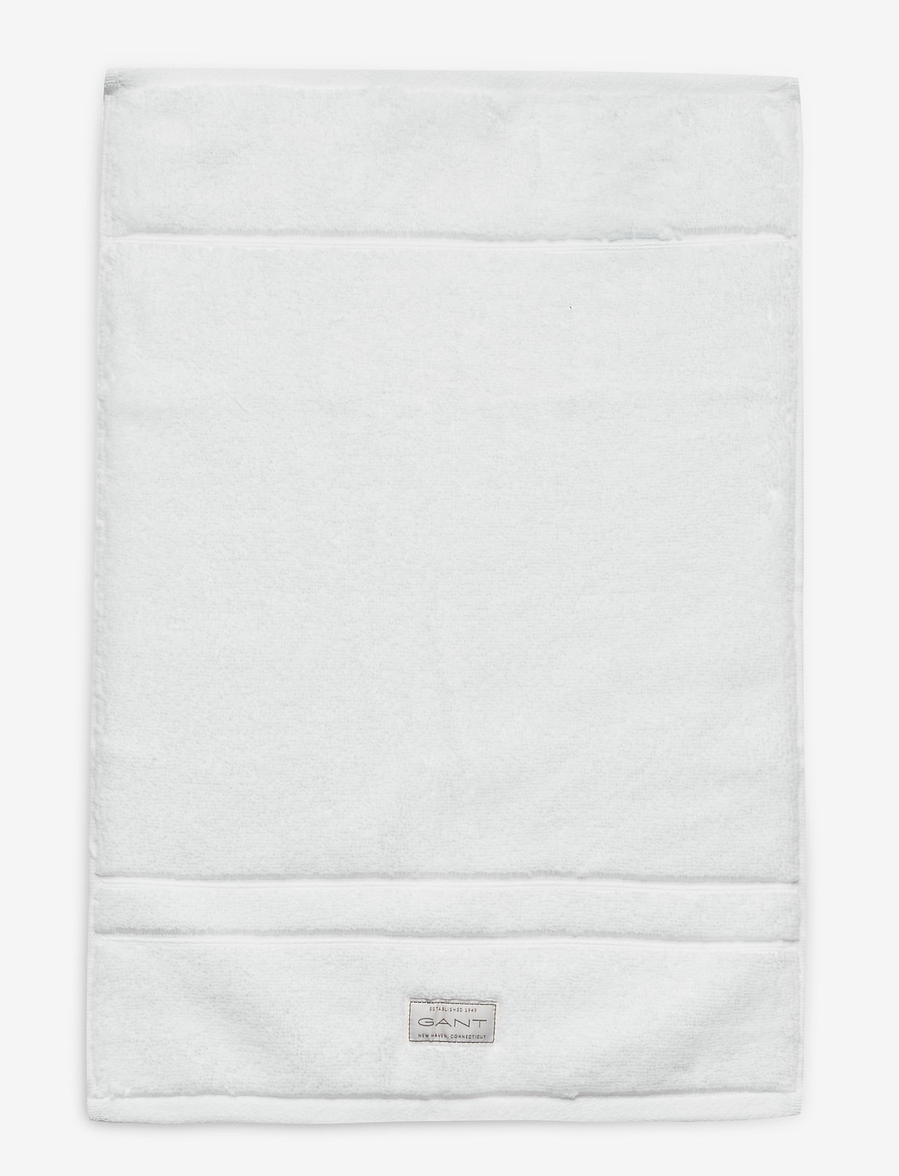 GANT - PREMIUM TOWEL 30X50 - pyyhkeet & kylpypyyhkeet - white - 0