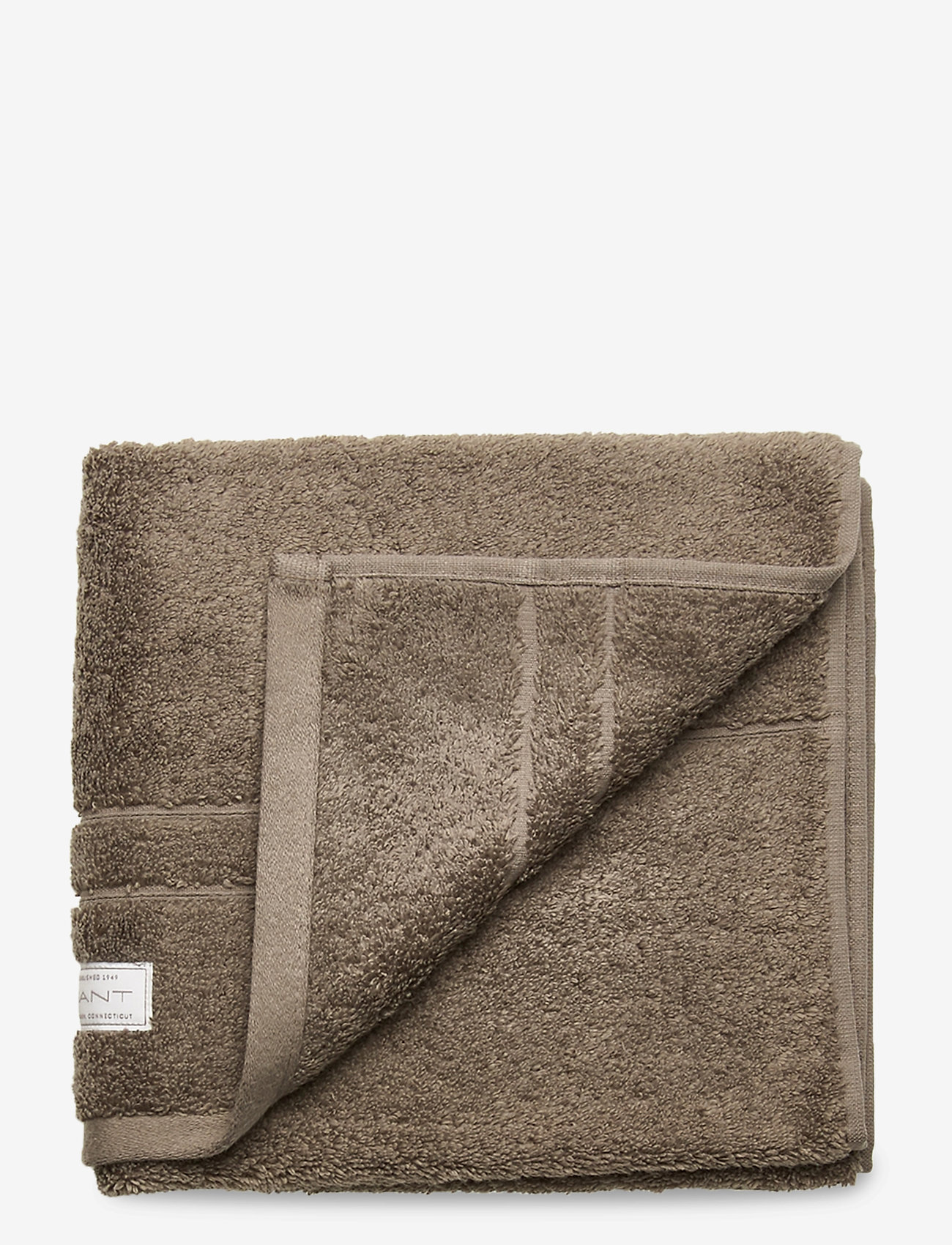 GANT - PREMIUM TOWEL 50X70 1-pack - hand towels & bath towels - desert brown - 0