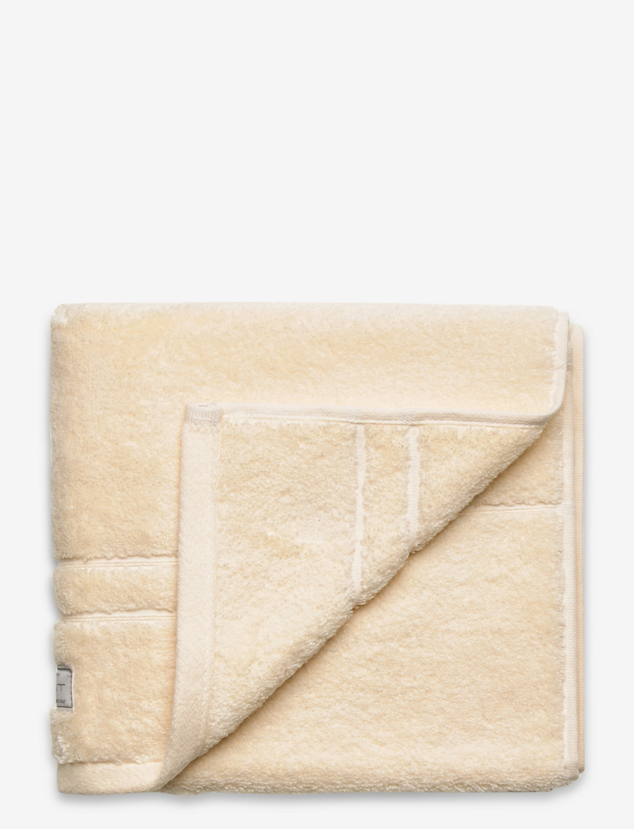 GANT - ORGANIC PREMIUM TOWEL 50X70 - pyyhkeet & kylpypyyhkeet - eggshell - 0