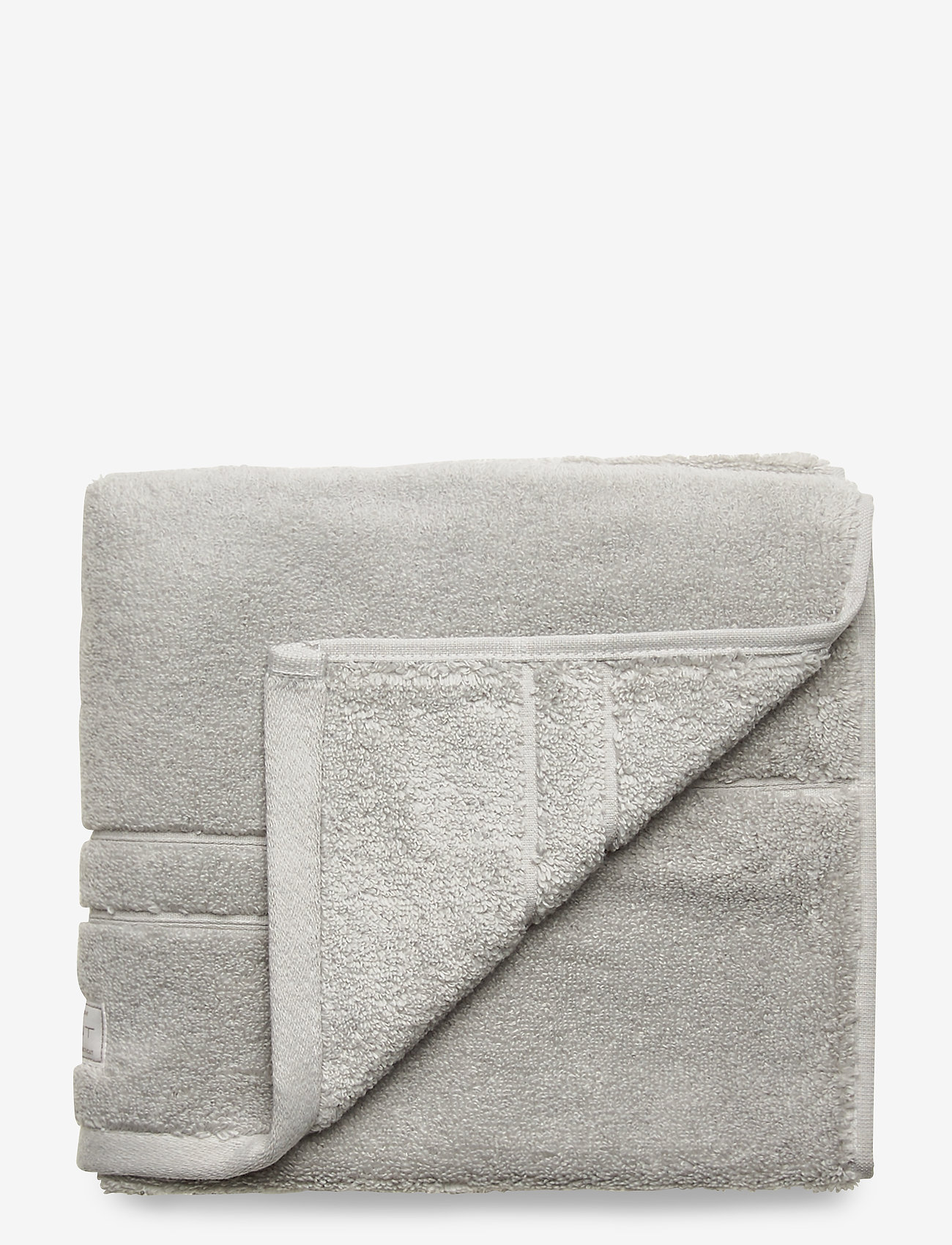 GANT - PREMIUM TOWEL 50X70 1-pack - hand towels & bath towels - light grey - 0