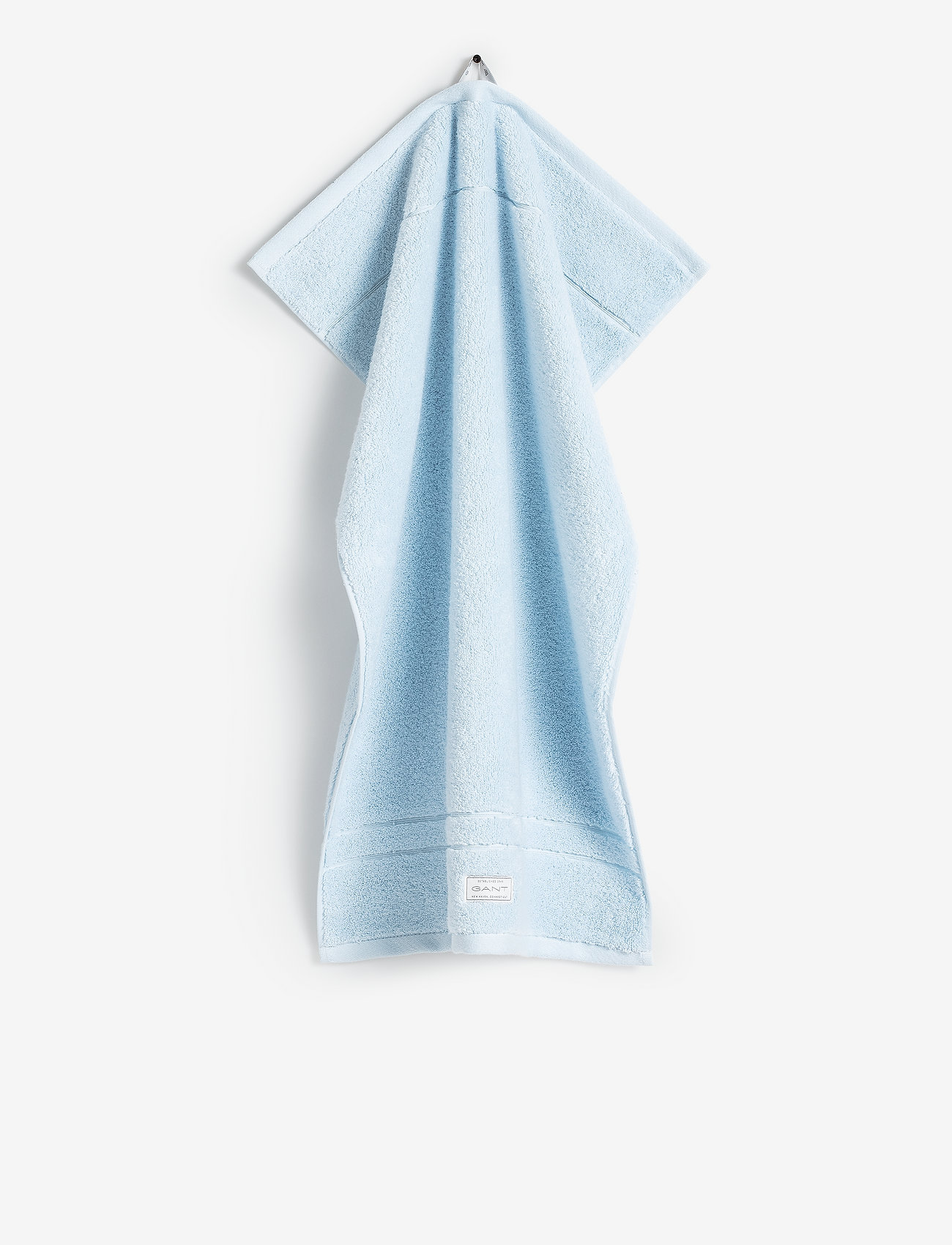 GANT - PREMIUM TOWEL 70X140 - hand towels & bath towels - pacific blue - 0