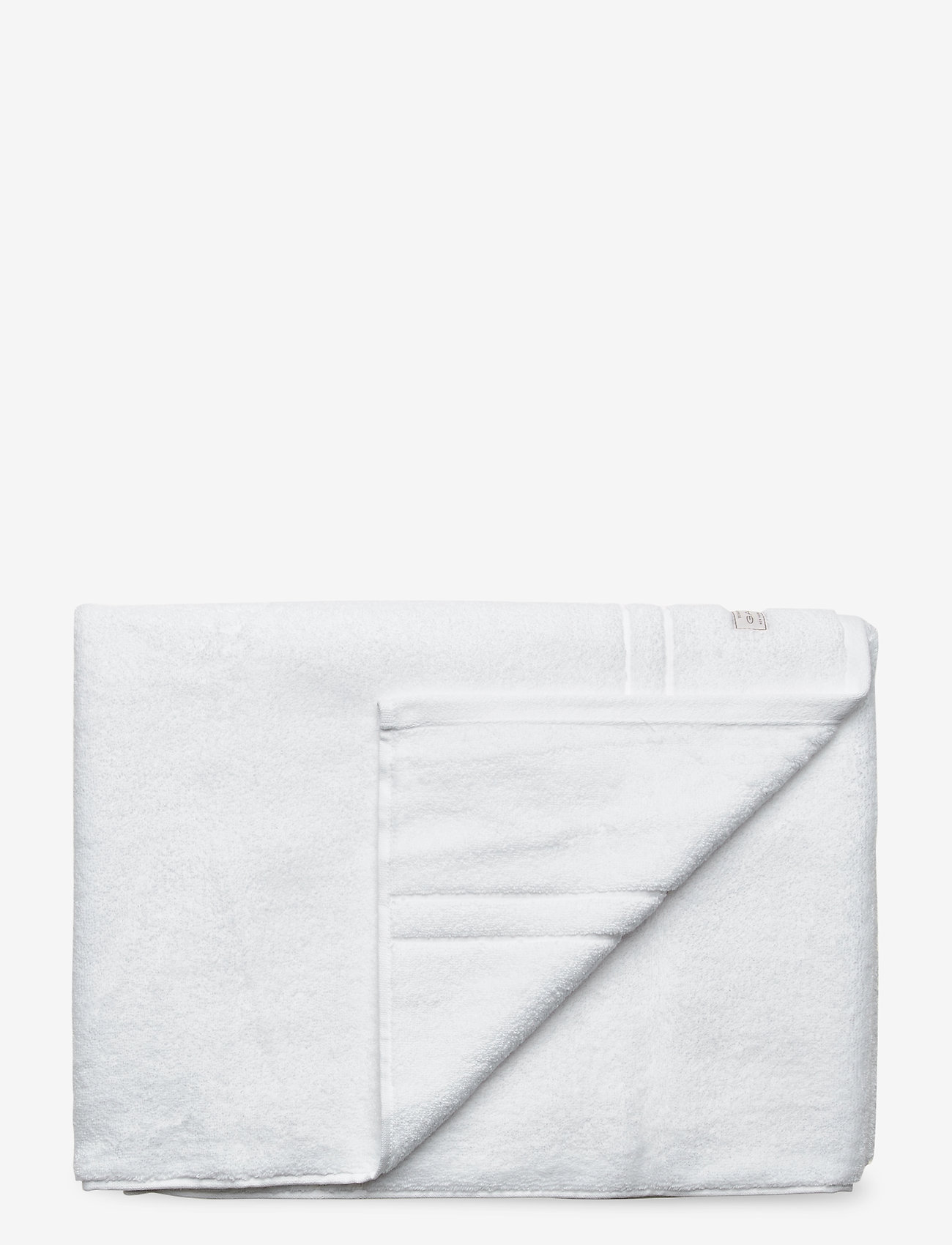GANT - PREMIUM TOWEL 70X140 - hand towels & bath towels - white - 0