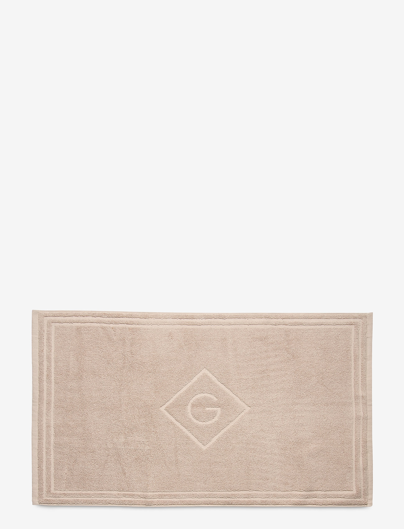 GANT - G SHOWER MAT 50X80 - hand towels & bath towels - dry sand - 0