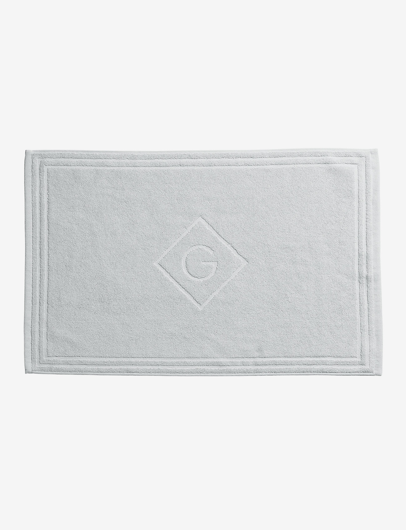 GANT - G SHOWER MAT 50X80 - hand towels & bath towels - light grey - 0
